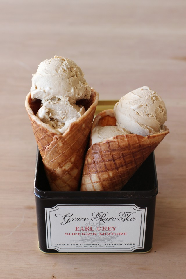 Earl Grey Ice Cream | HonestlyYUM