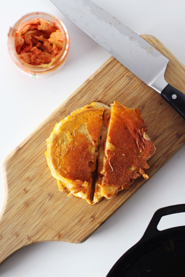 Grilled Kimcheese | HonestlyYUM