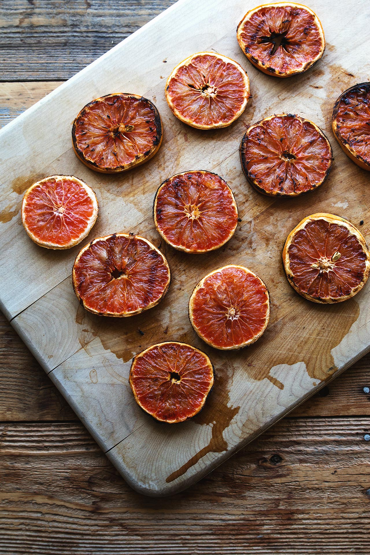 Grilled Grapefruit | HonestlyYUM