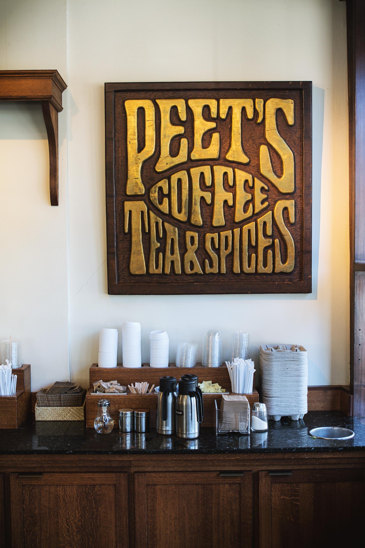 Inside the Original Peet's Coffee, Berkeley, CA