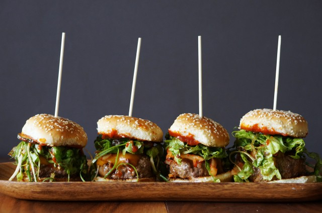 Gochujang BBQ Sliders | HonestlyYUM
