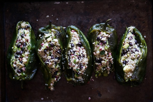 Stuffed poblanos(h)