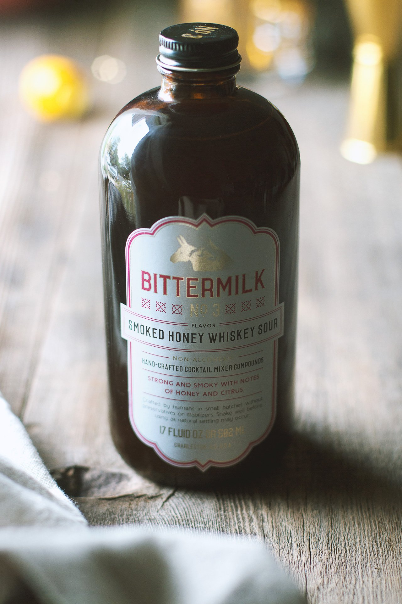 Bittermilk Smoked Honey Whiskey Sour | Photographed by HonestlyYUM