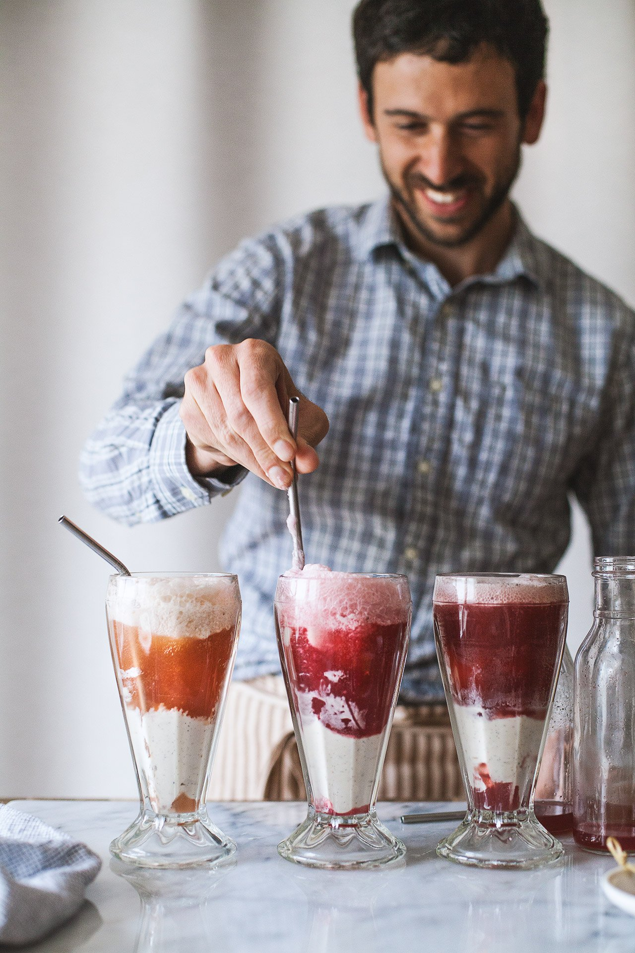 Angostura Phosphate + A Trio of Floats | HonestlyYUM