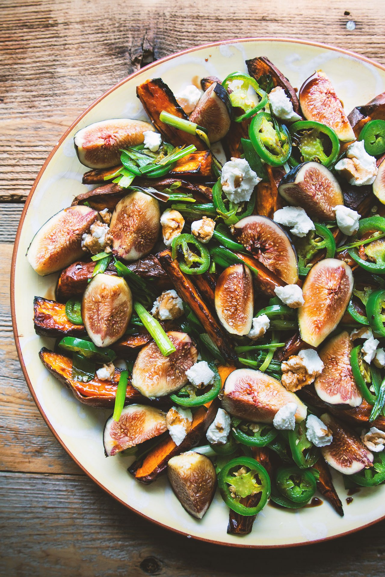 Roasted Yams and Fresh Figs via honestlyyum.com @HonestlyYUM