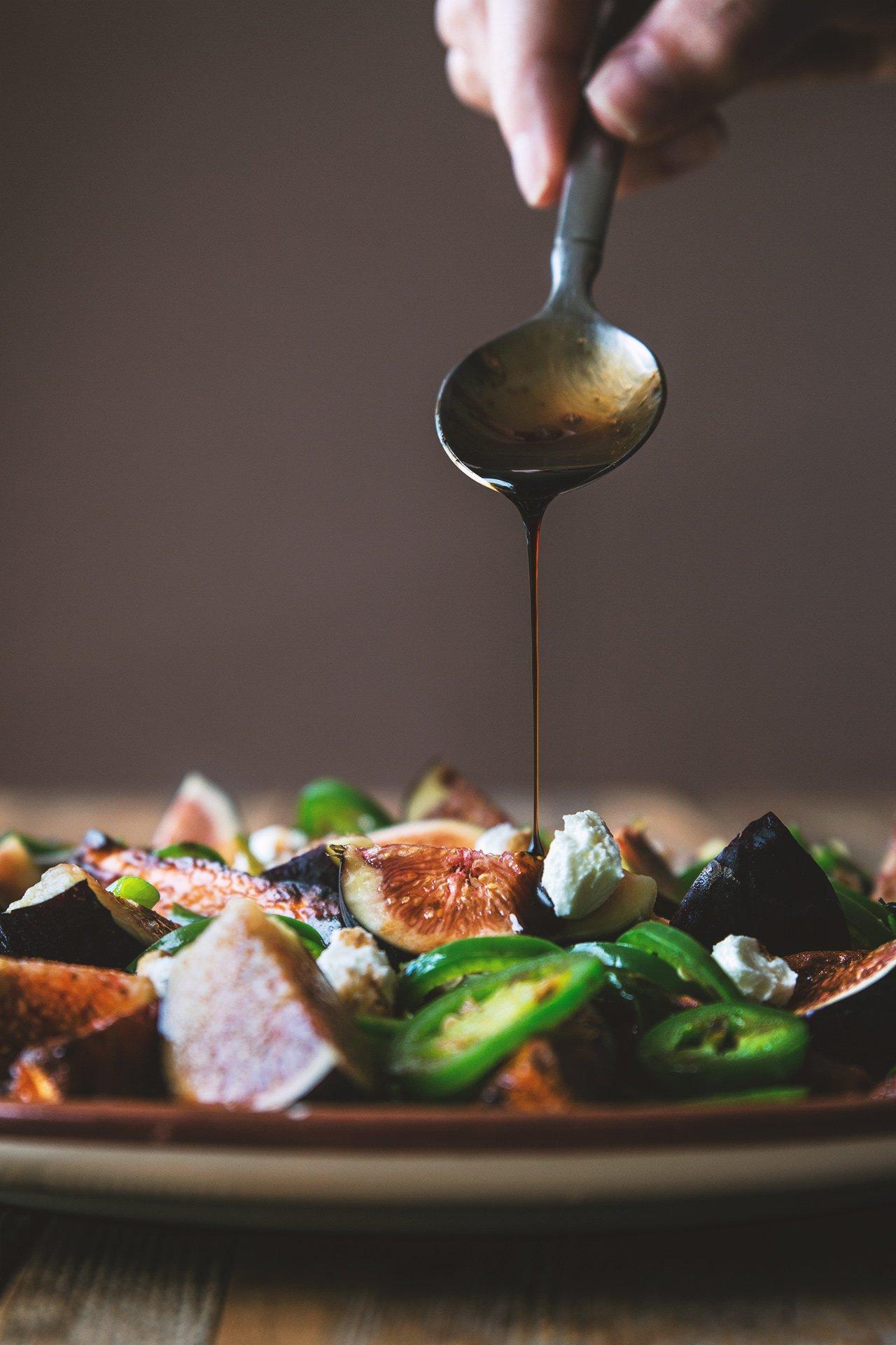Roasted Yams and Fresh Figs via honestlyyum.com @HonestlyYUM