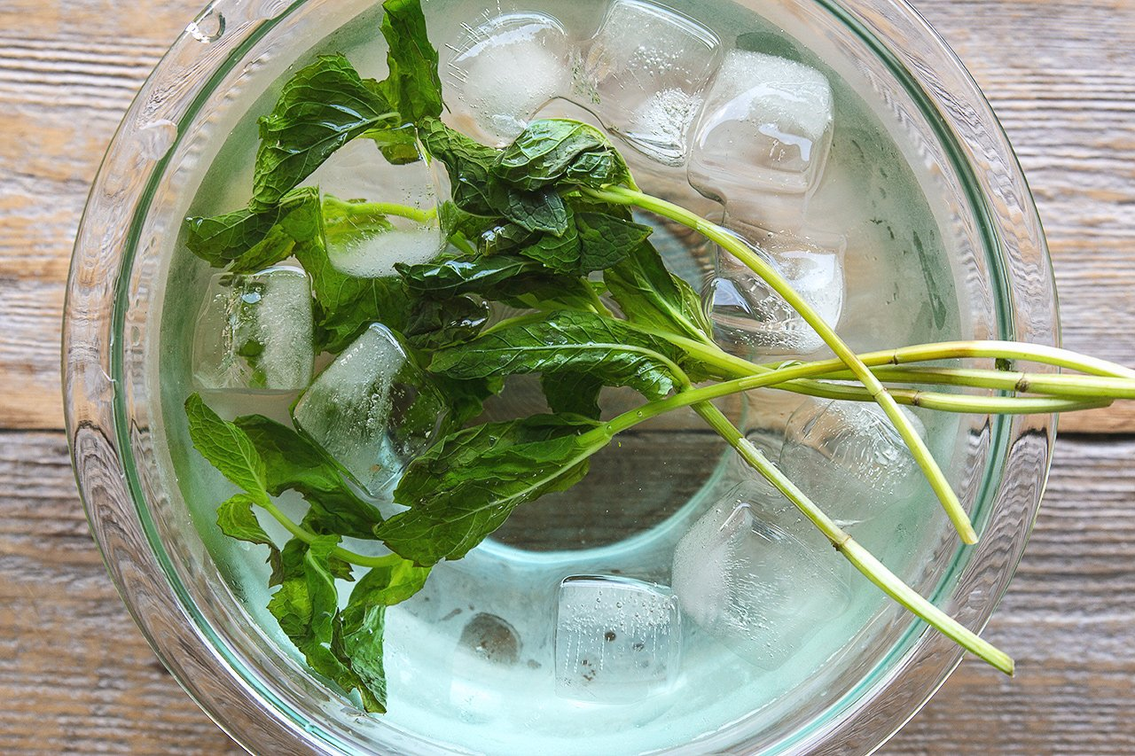 Mint Syrup | HonestlyYUM