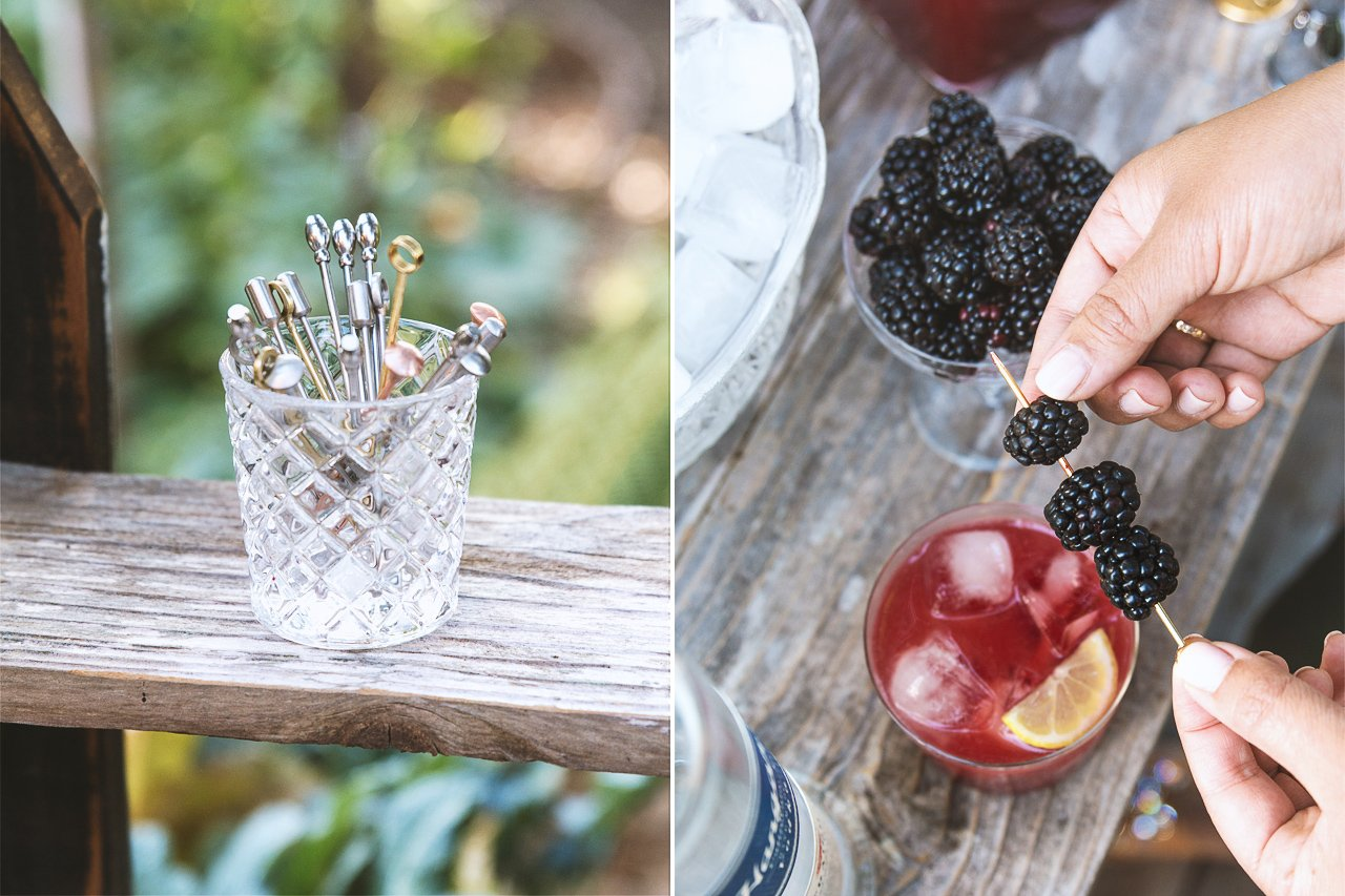 Hangar 1 DIY Cocktail Bar by @HonestlyYUM @Hangar1Vodka #Hangar1Vodka