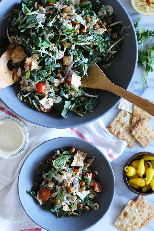 Falafel Salad | HonestlyYUM
