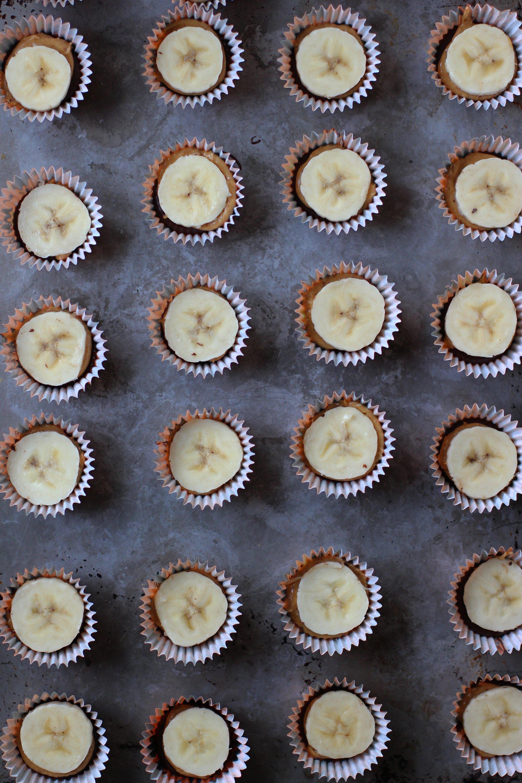 Banana + Peanut butter cups | HonestlyYUM