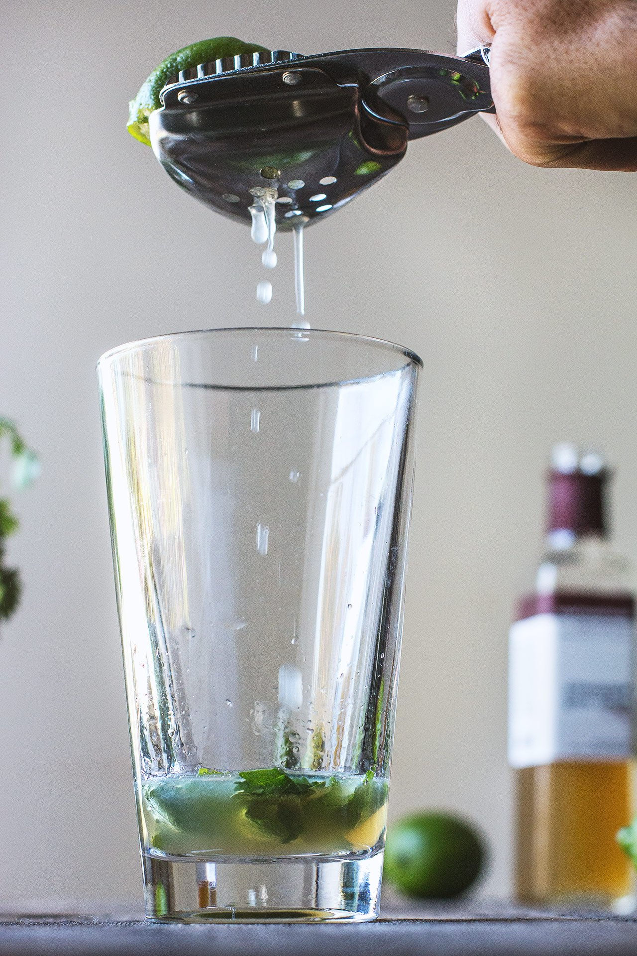 Green Chile Cocktail | HonestlyYUM