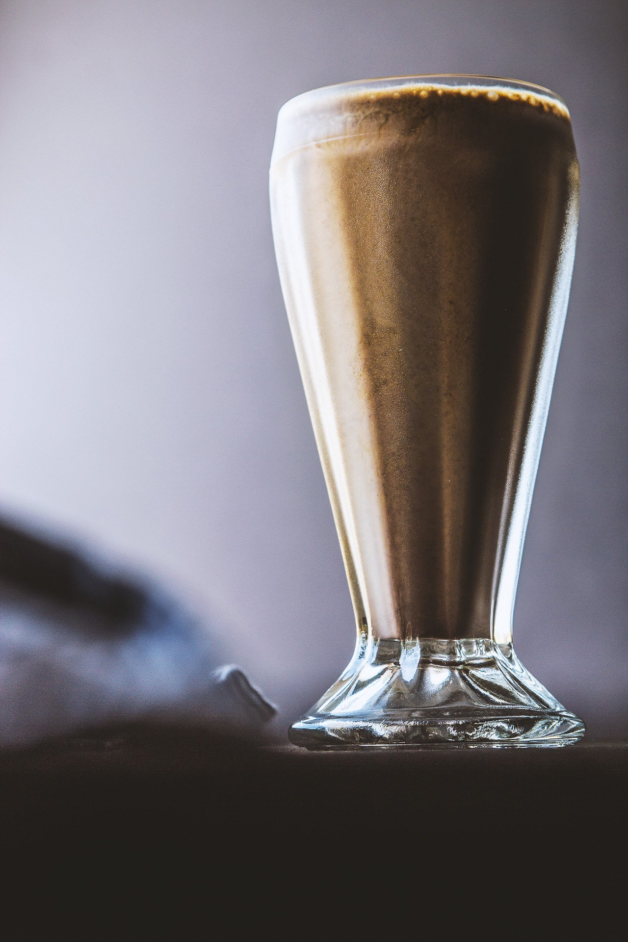 Malted Chocolate Fernet Milkshake | HonestlyYUM