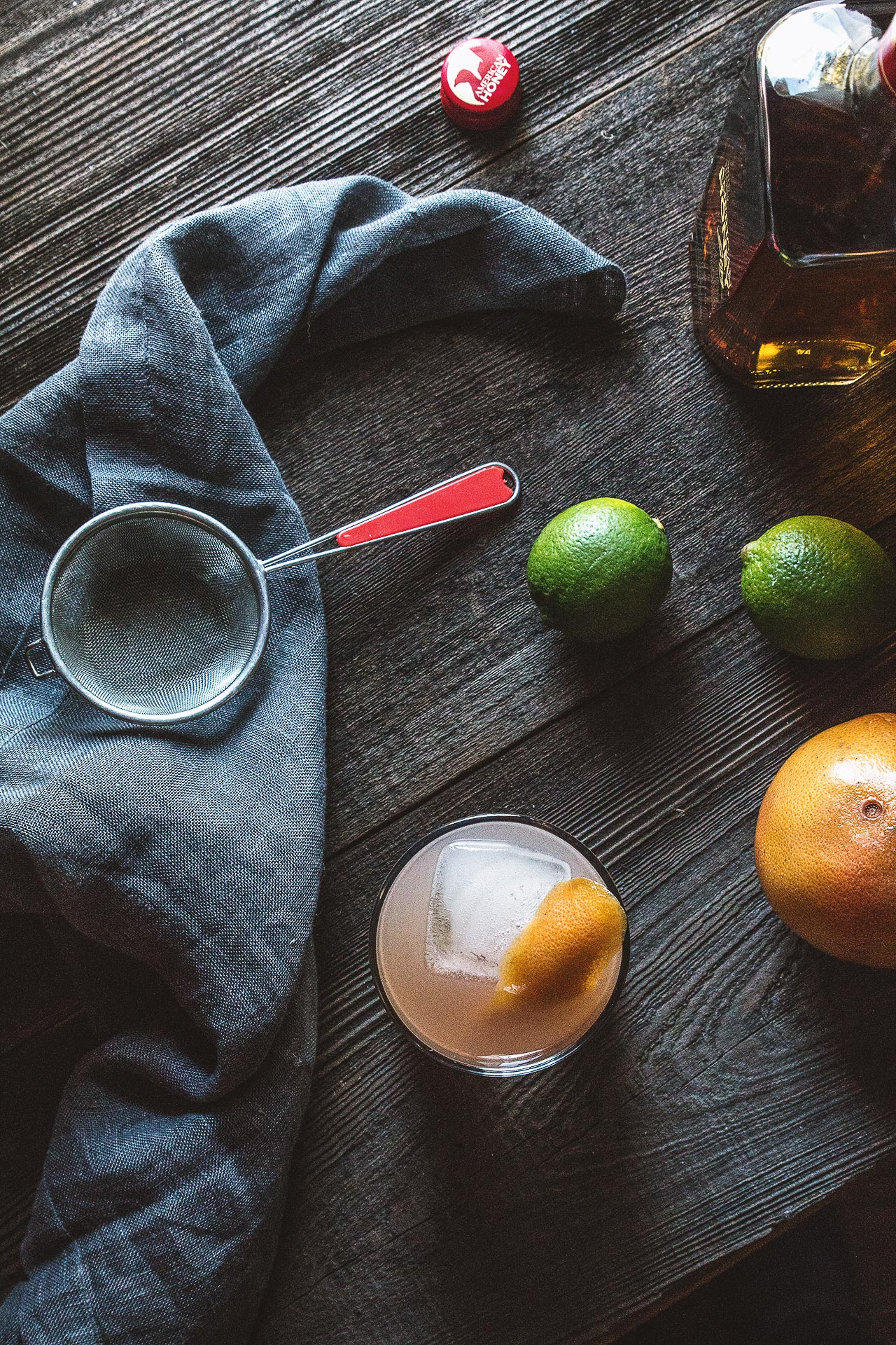 Citrus Sting Cocktail Recipe by HonestlyYUM