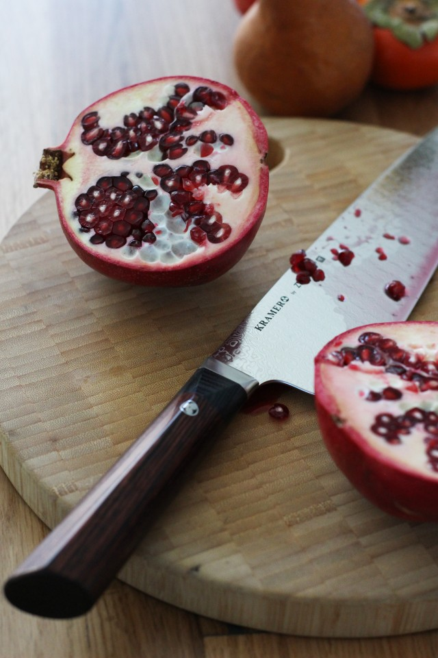 Knife & Pomegranate
