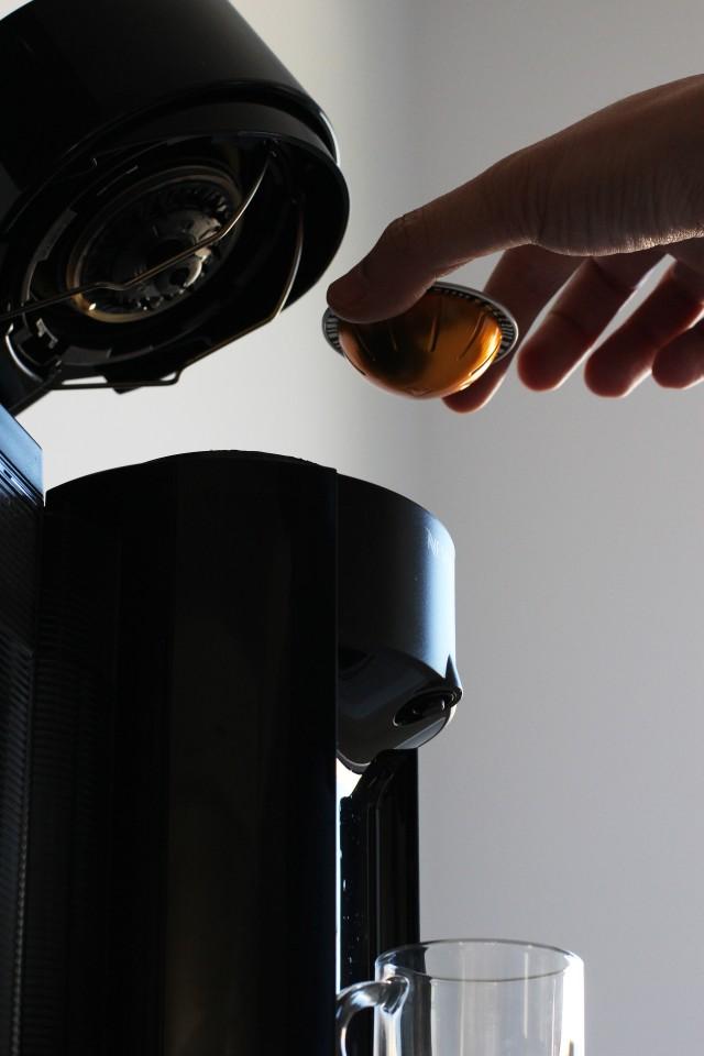 Nespresso pod