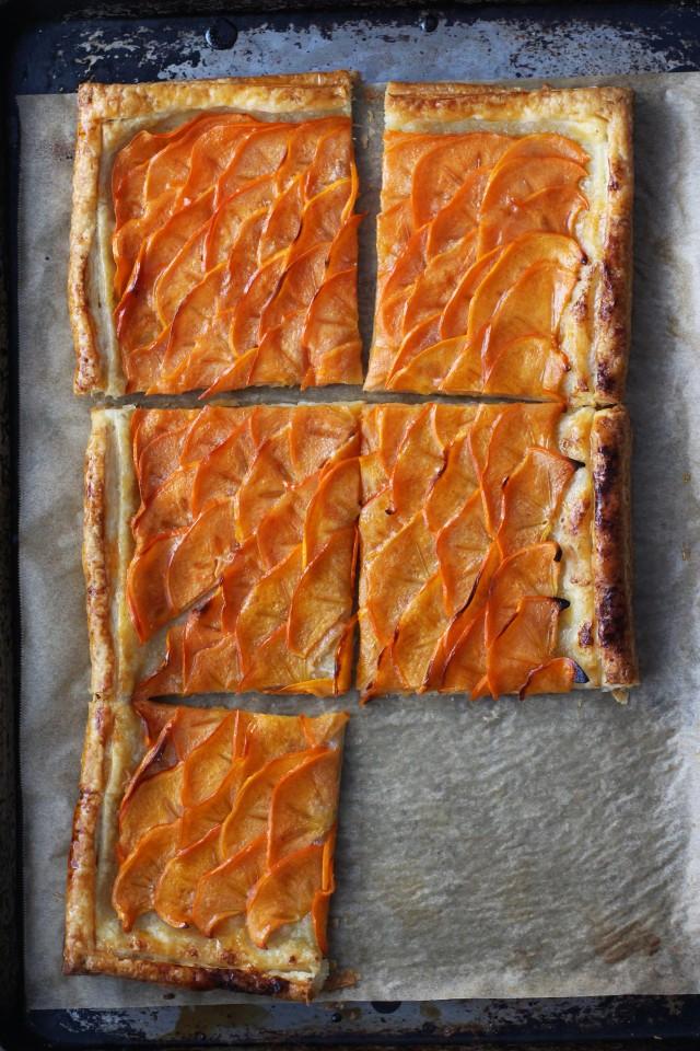 Persimmon tart | HonestlyYUM