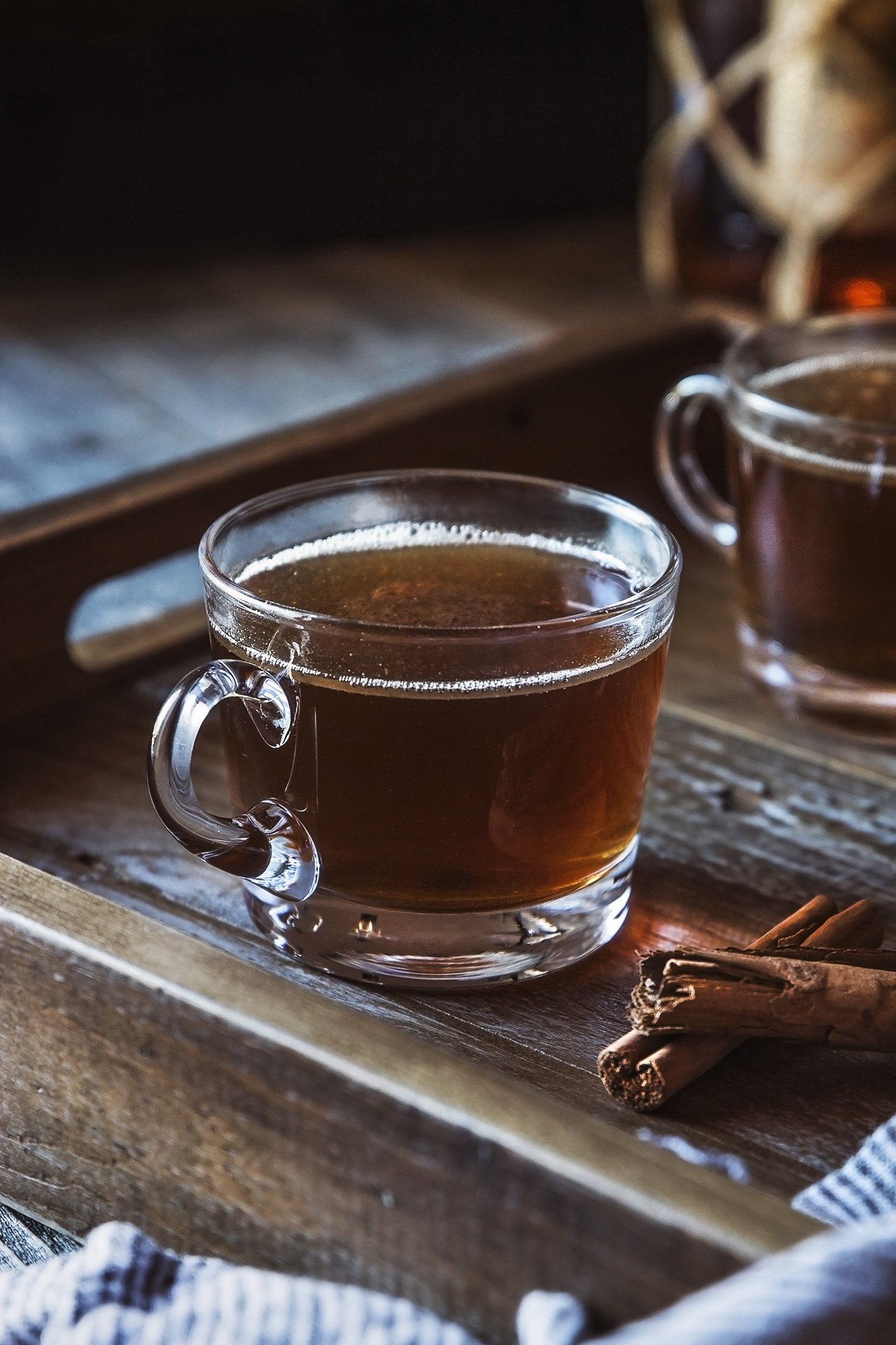 Hot Coconut Buttered Rum {vegan} by HonestlyYUM