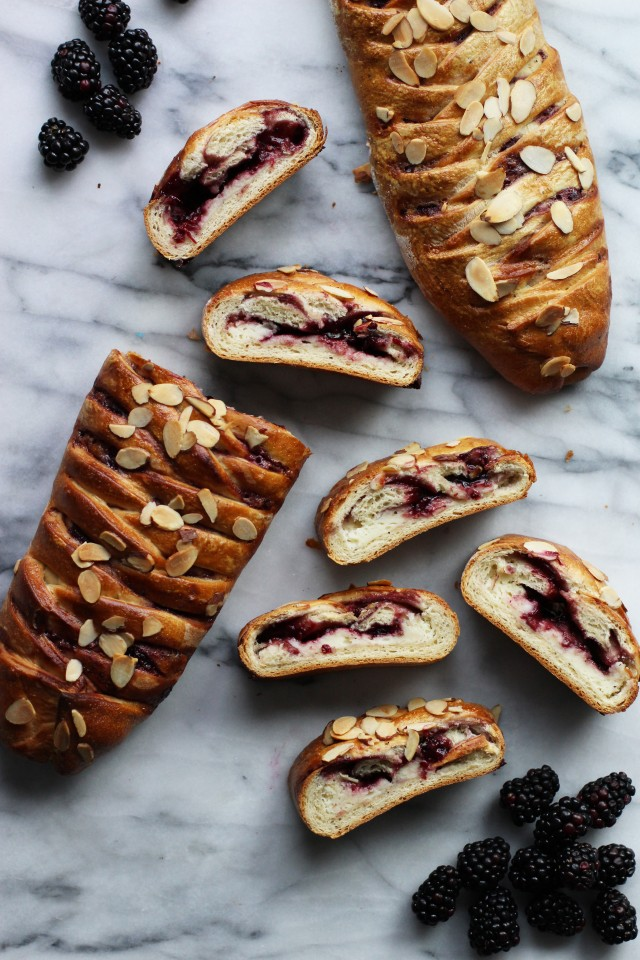 Braided sour cream coffee bread 640x960 Cardamom Coffee Cake Cardamom Orange Coffee Cake Recipe Barbara Bakes