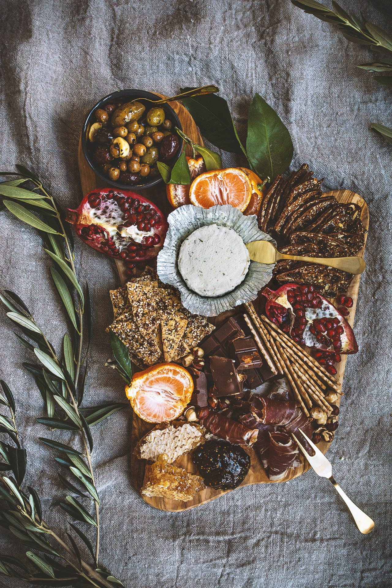 Boursin Cheese Platter | HonestlyYUM