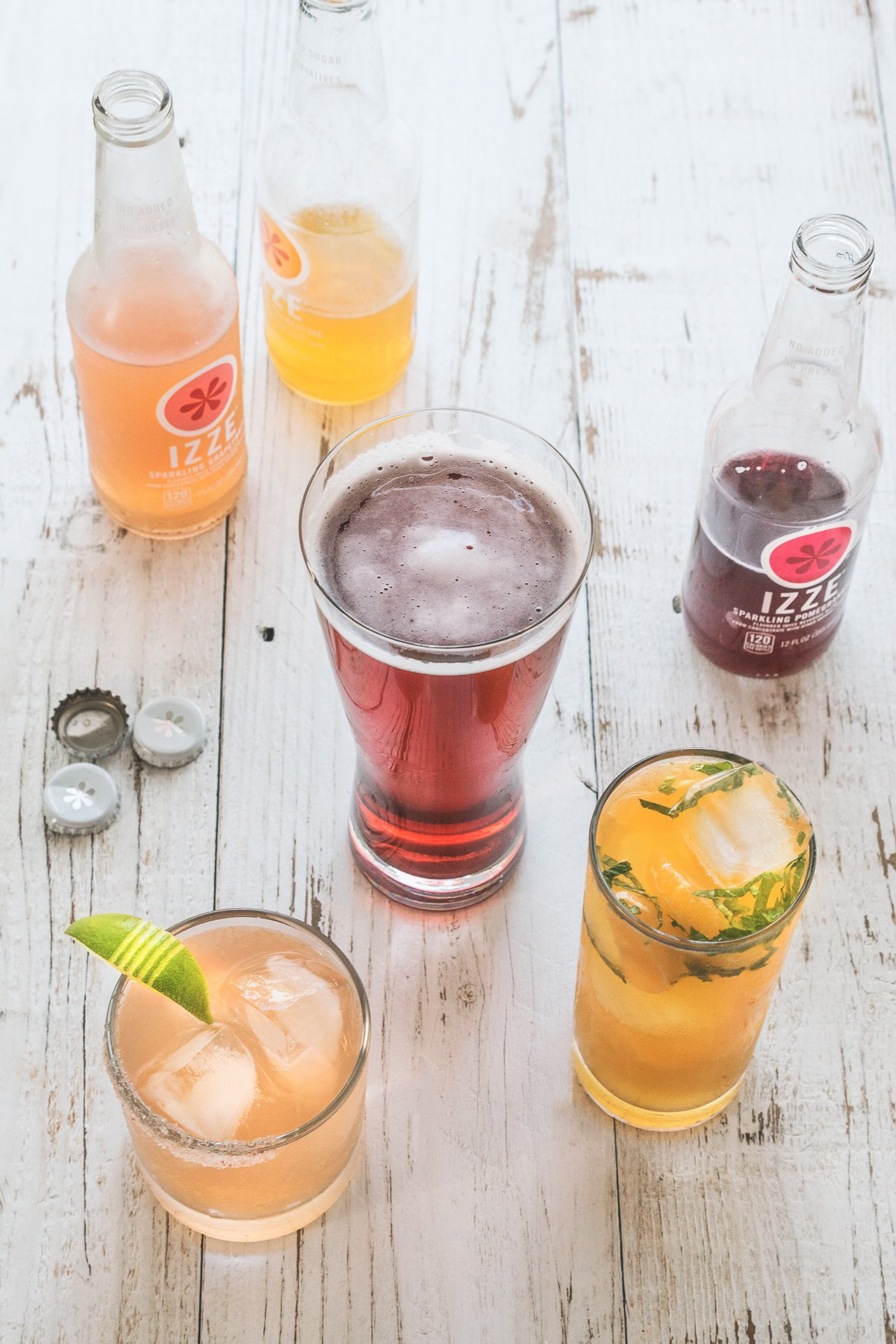 A Trio of New Year's Eve Cocktails | HonestlyYUM