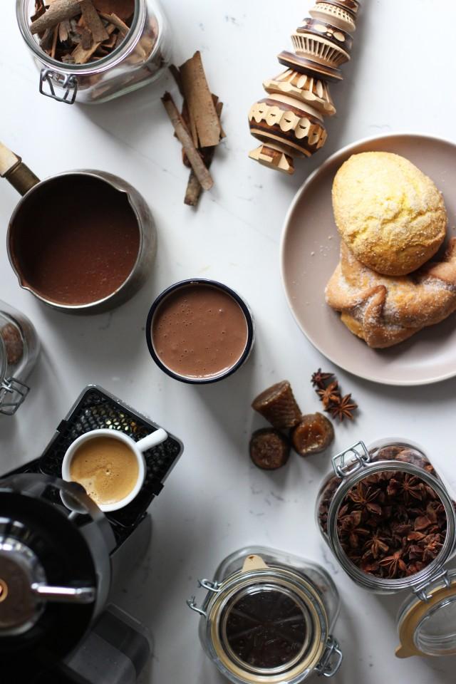 Champurrado + Nespresso