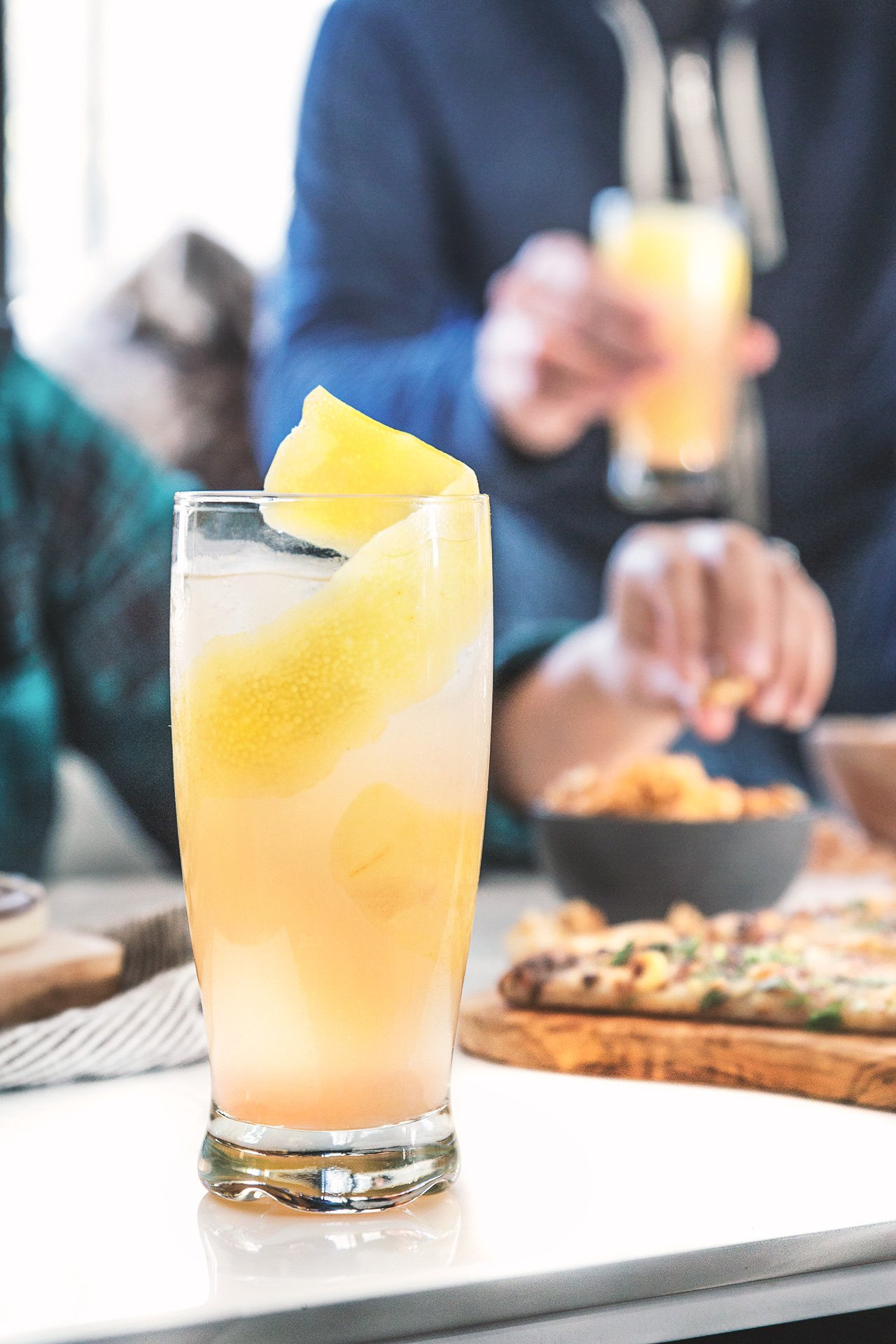 Pomelo Kick Cocktail Recipe | HonestlyYUM