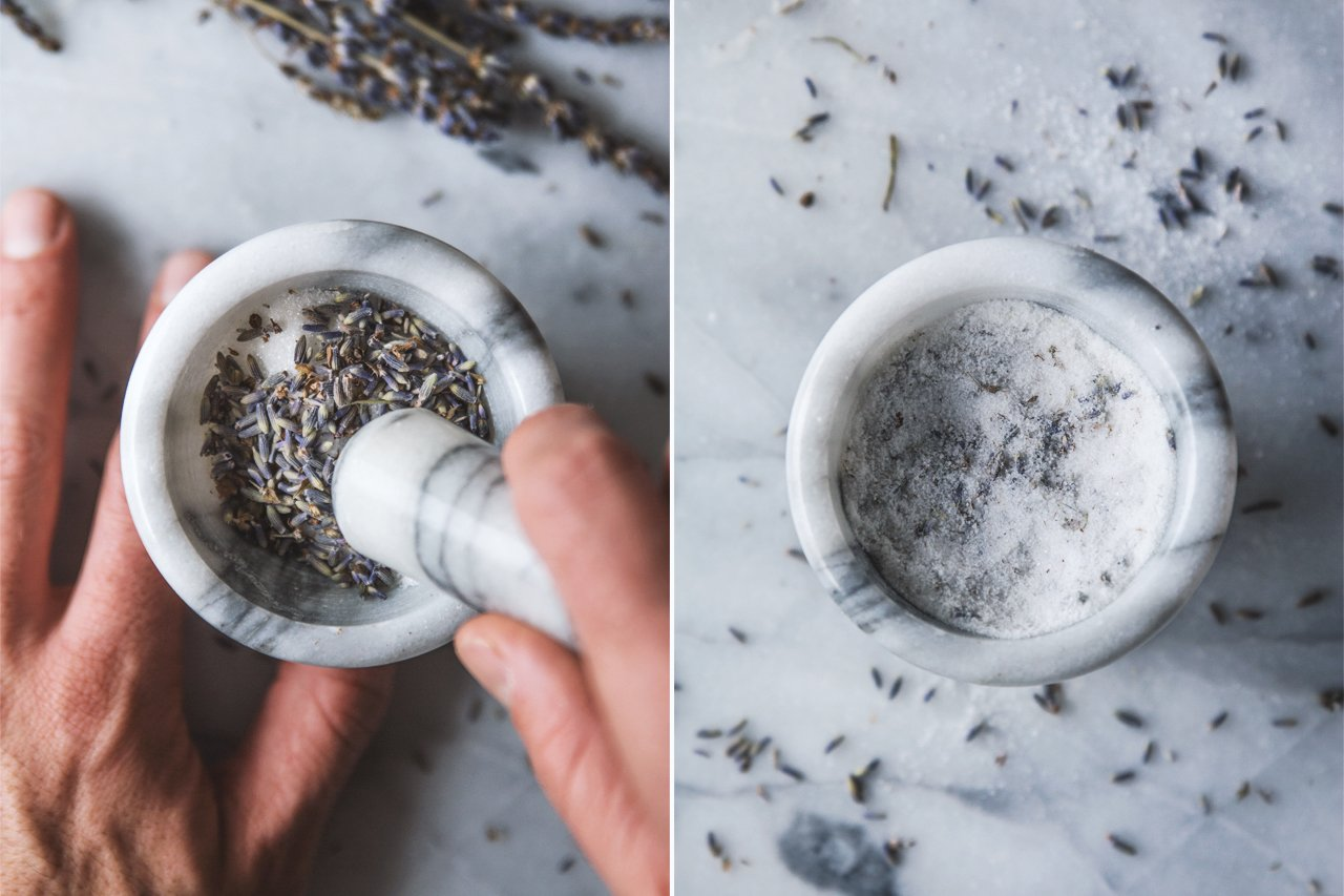 Lavender Sugar | HonestlyYUM