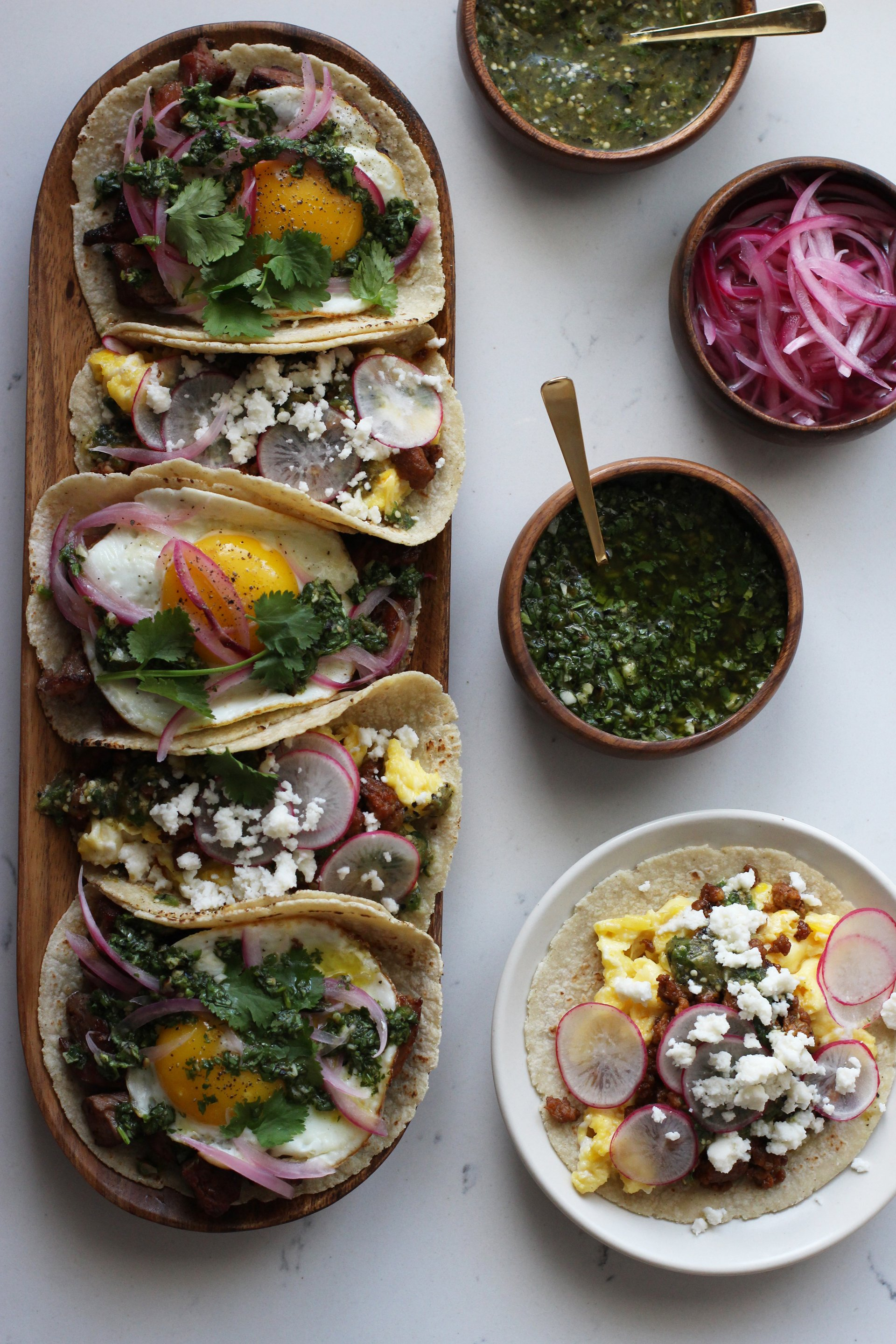 Breakfast taco spread | HonestlyYUM