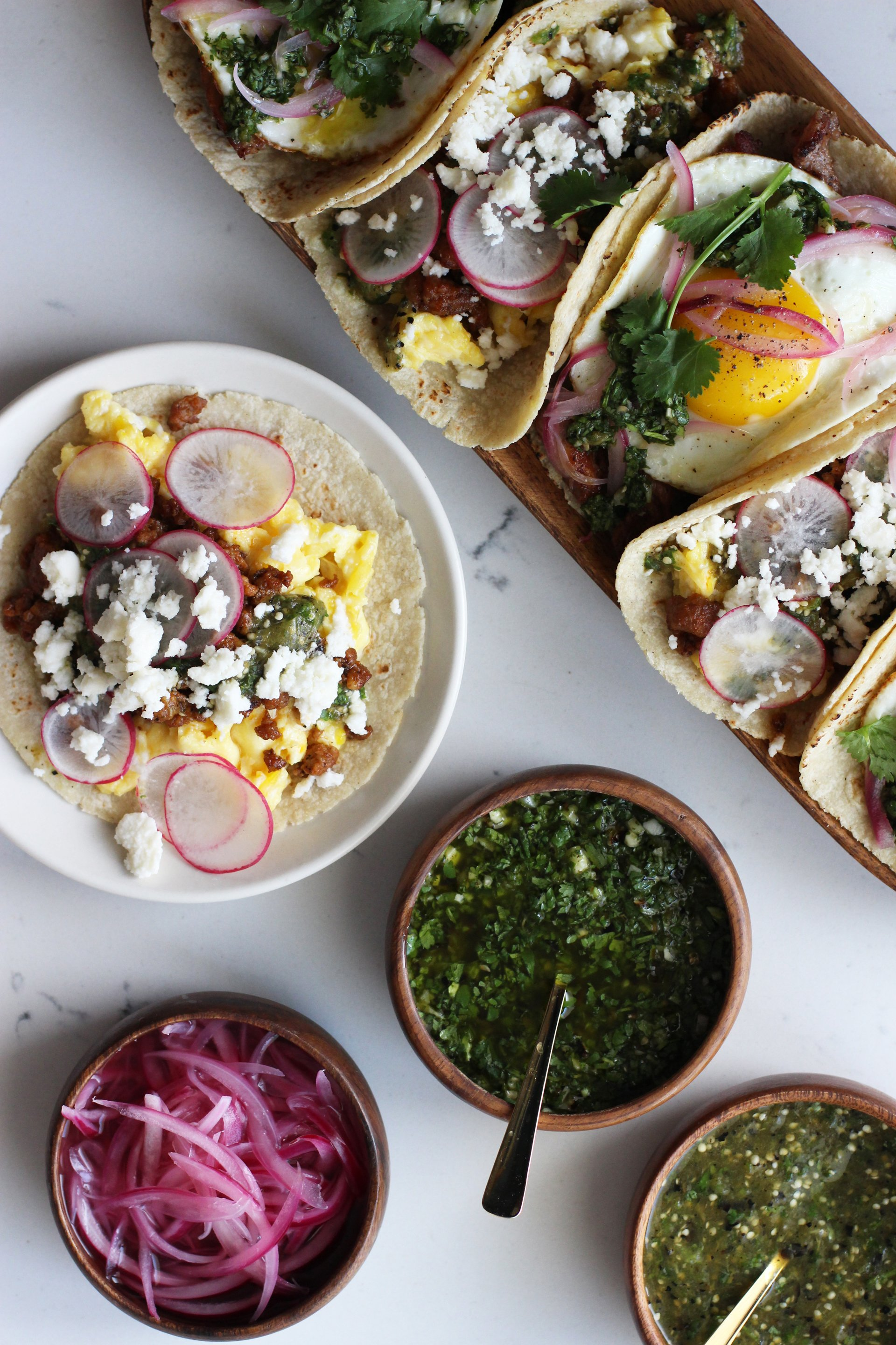 Breakfast tacos 4 | HonestlyYUM