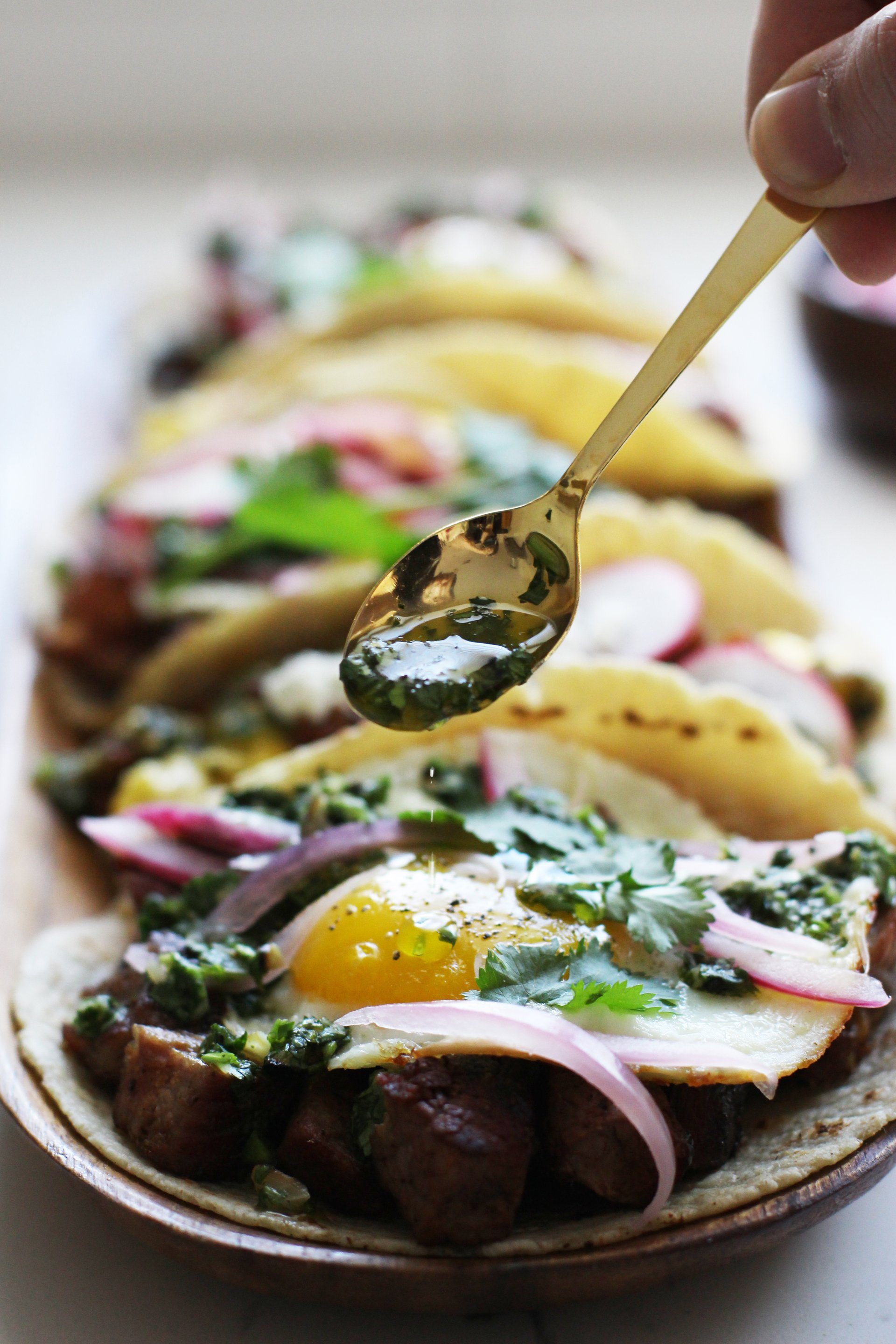 Chimichurri and steak | HonestlyYUM