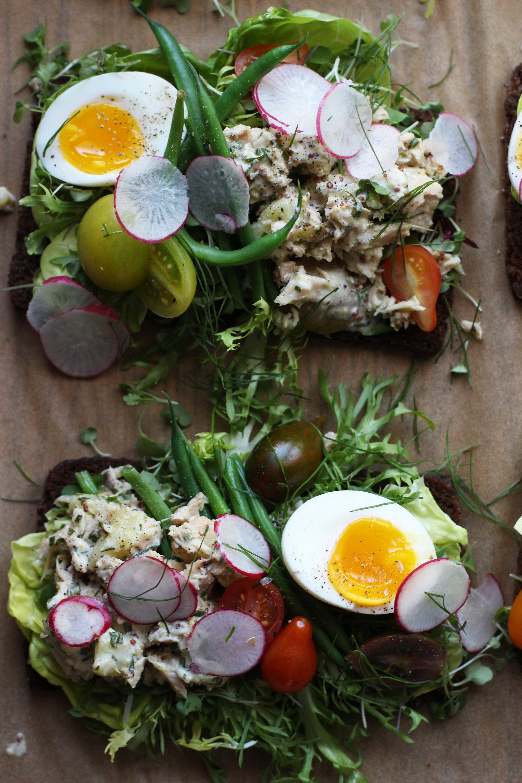 Nicoise Sandwich | HonestlyYUM