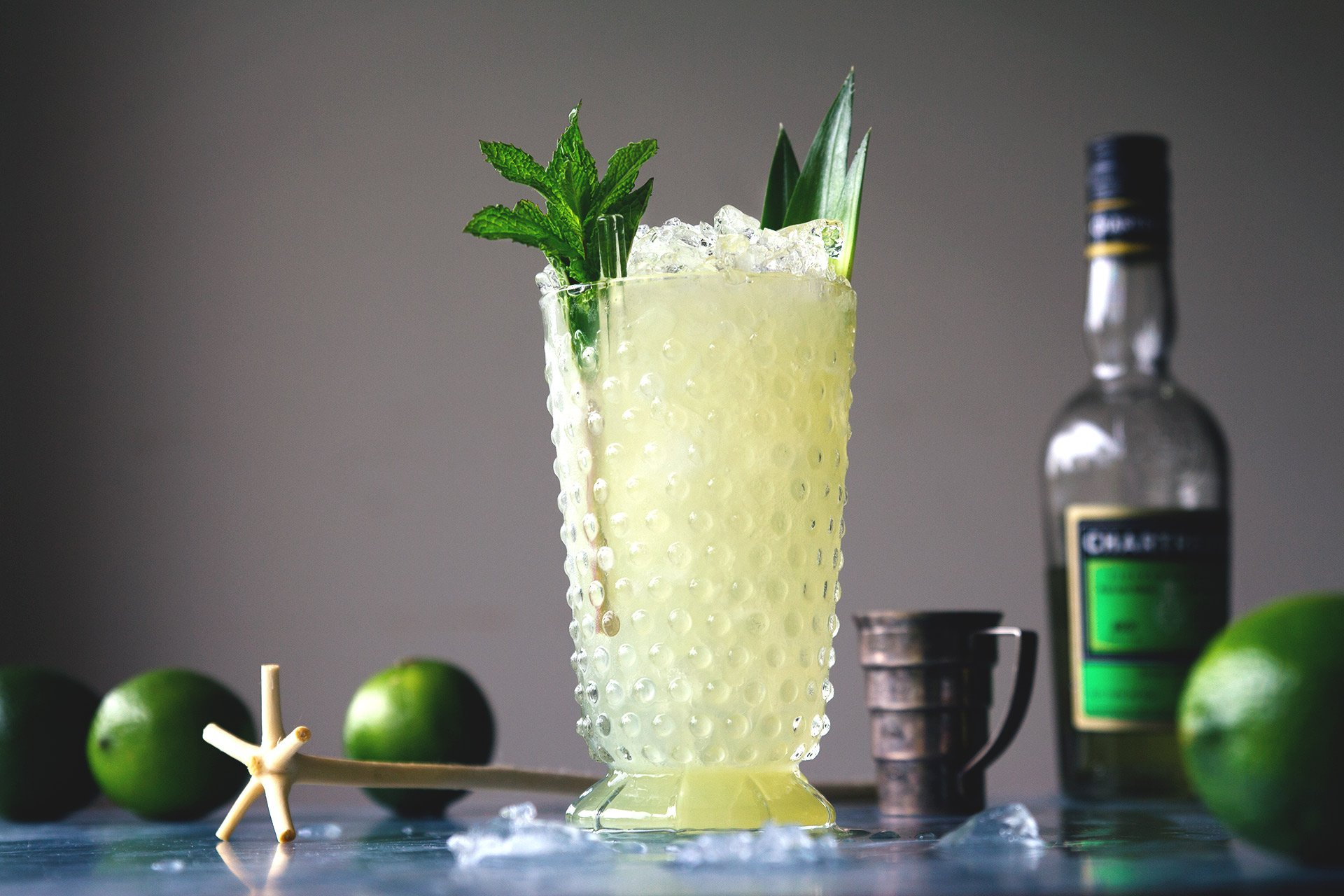 Chartreuse Swizzle | HonestlyYUM (honestlyyum.com)