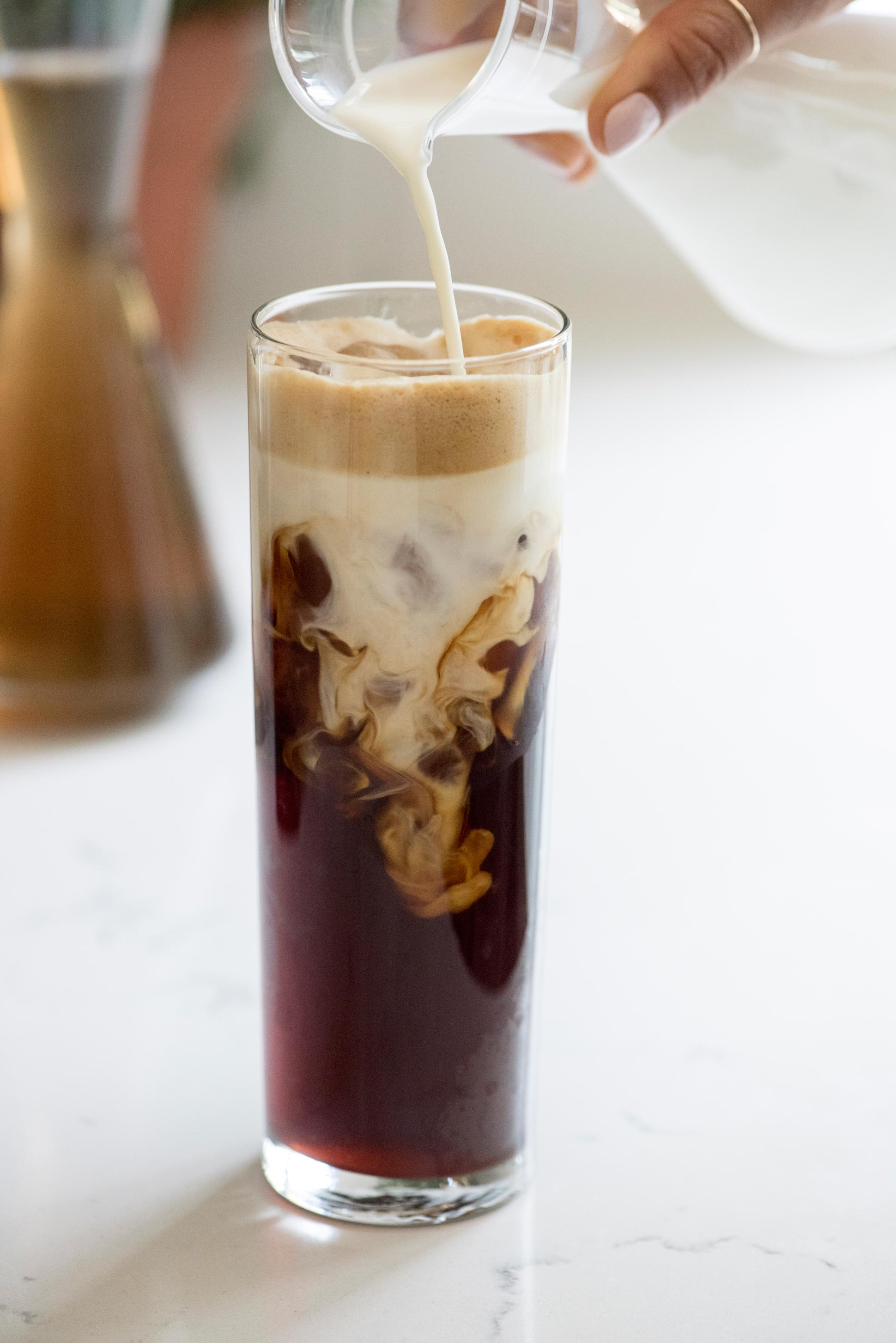 Lavender Iced Nespresso Coffee -> Nespresso Iced Coffee