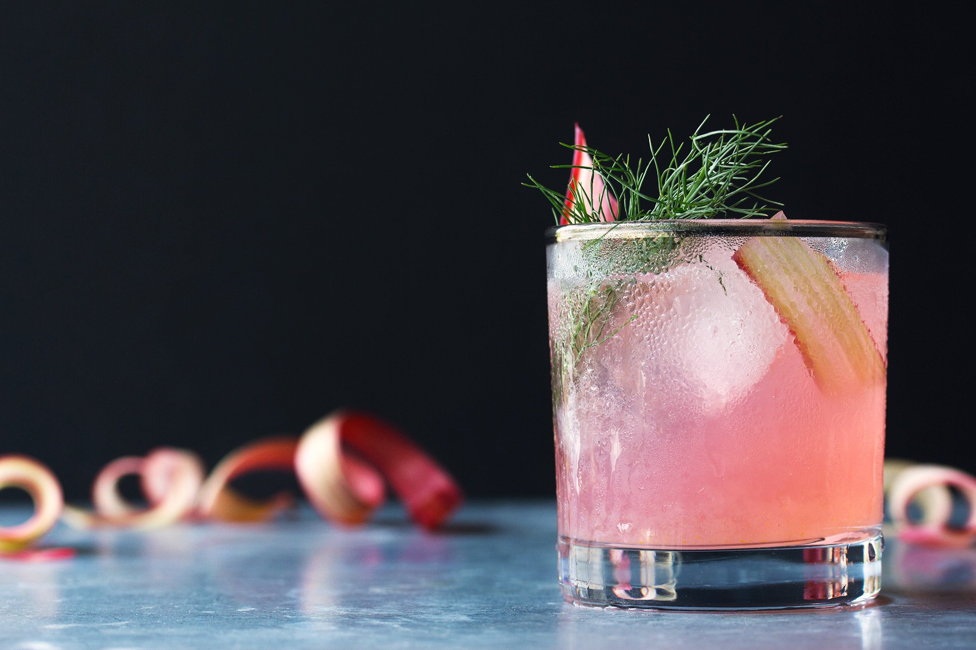 Rhubarb, Fennel & Vermouth Cocktail | HonestlyYUM (honestlyyum.com)