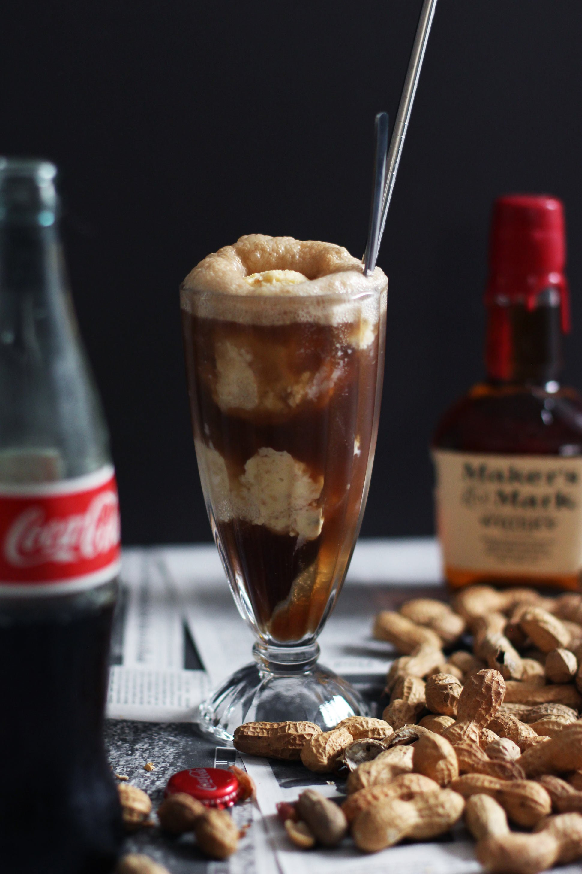 Peanut-ice-cream-coke-float-_-HonestlyYUM