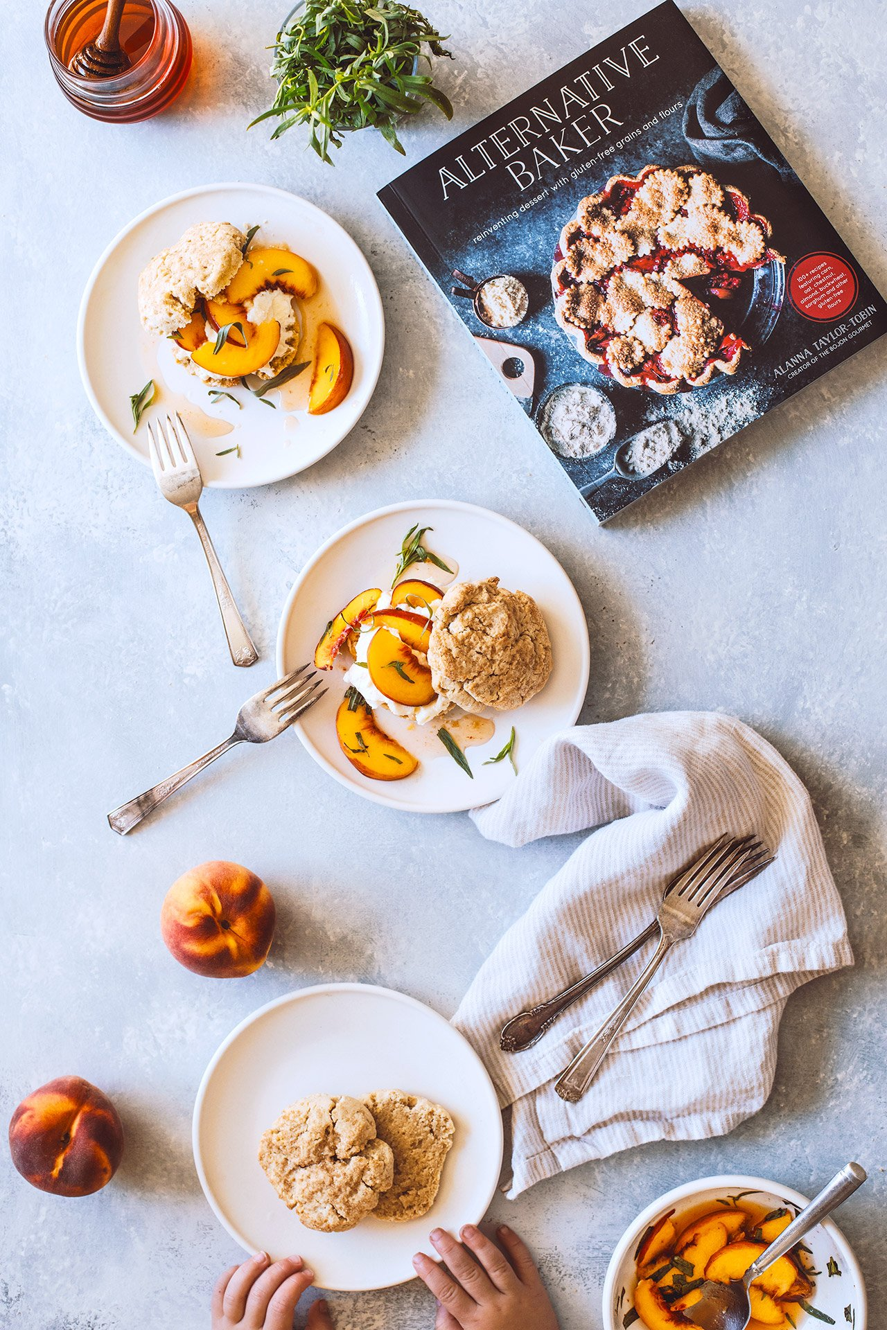 Lemon Ricotta Shortcakes with Peaches & Mascarpone Cream (Gluten Free) + Alternative Baker Cookbook!! | HonestlyYUM (honestlyyum.com)