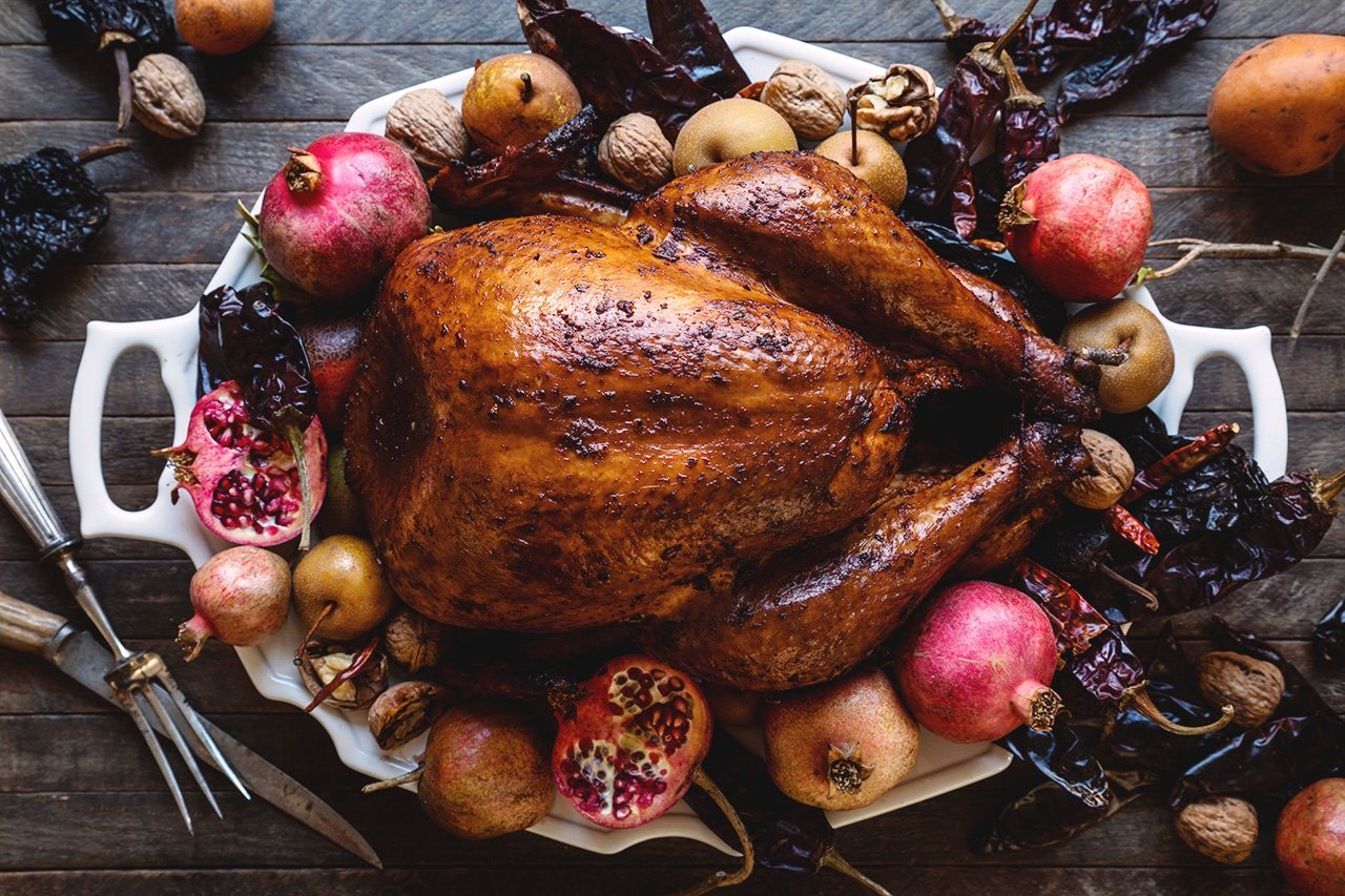 Chile-Rubbed Thanksgiving Turkey | HonestlyYUM