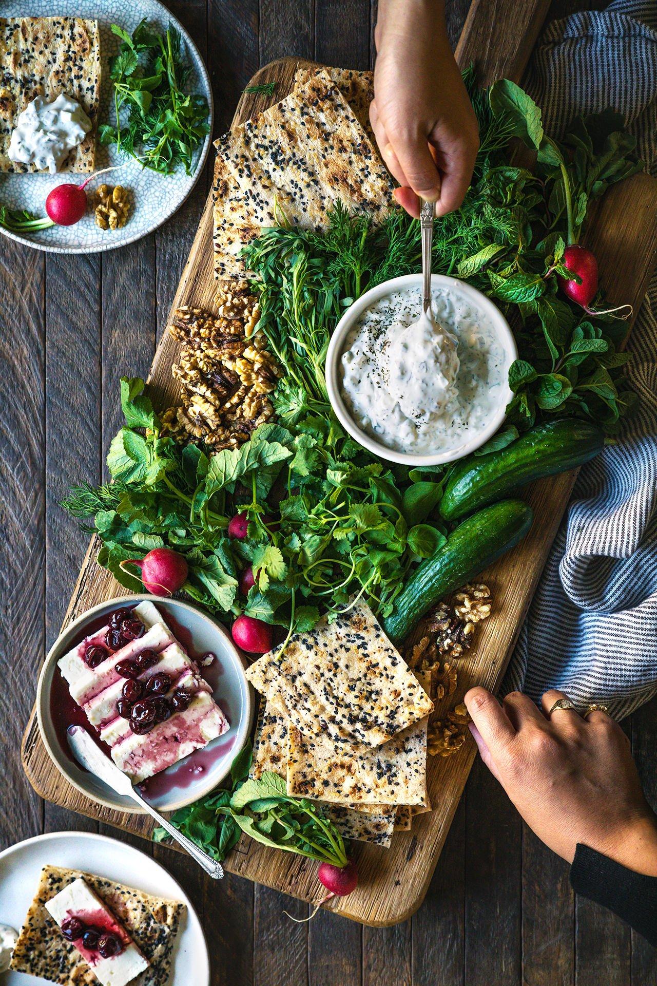 Persian Cheese and Herb Platter | HonestlyYUM (honestlyyum.com)