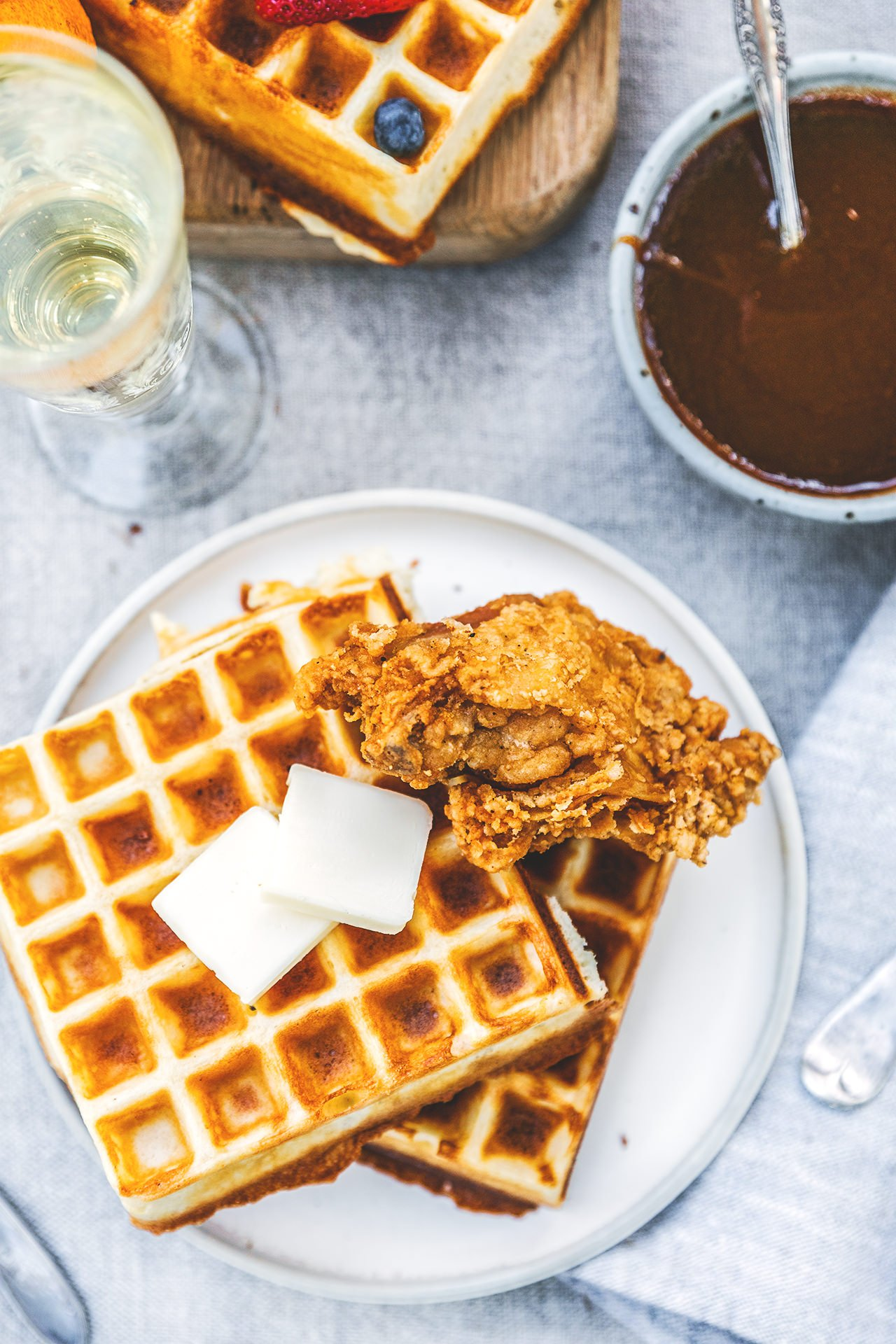 Mother's Day Waffle Feast | HonestlyYUM