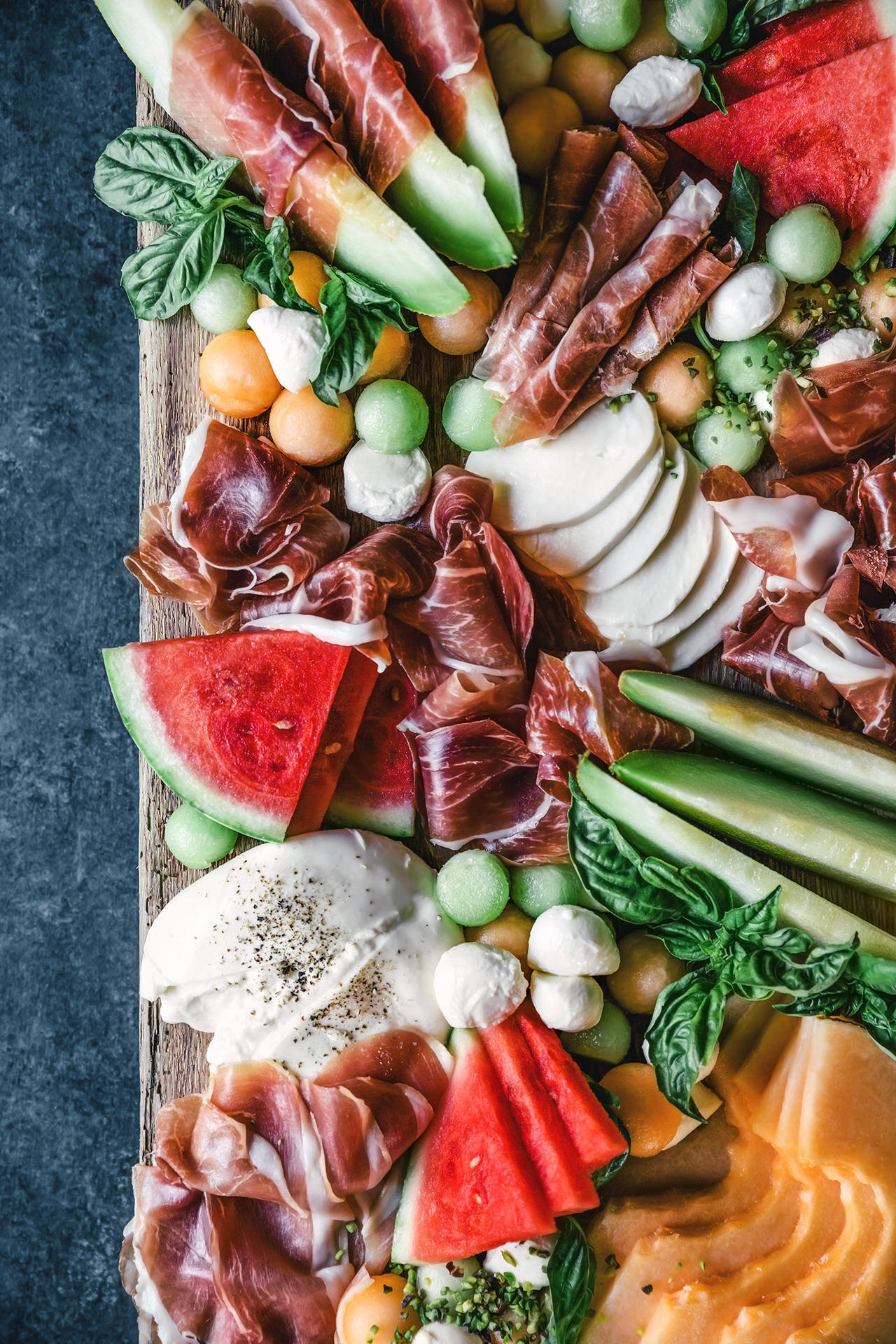 Melon and Prosciutto Platter | HonestlyYUM (honestlyyum.com)