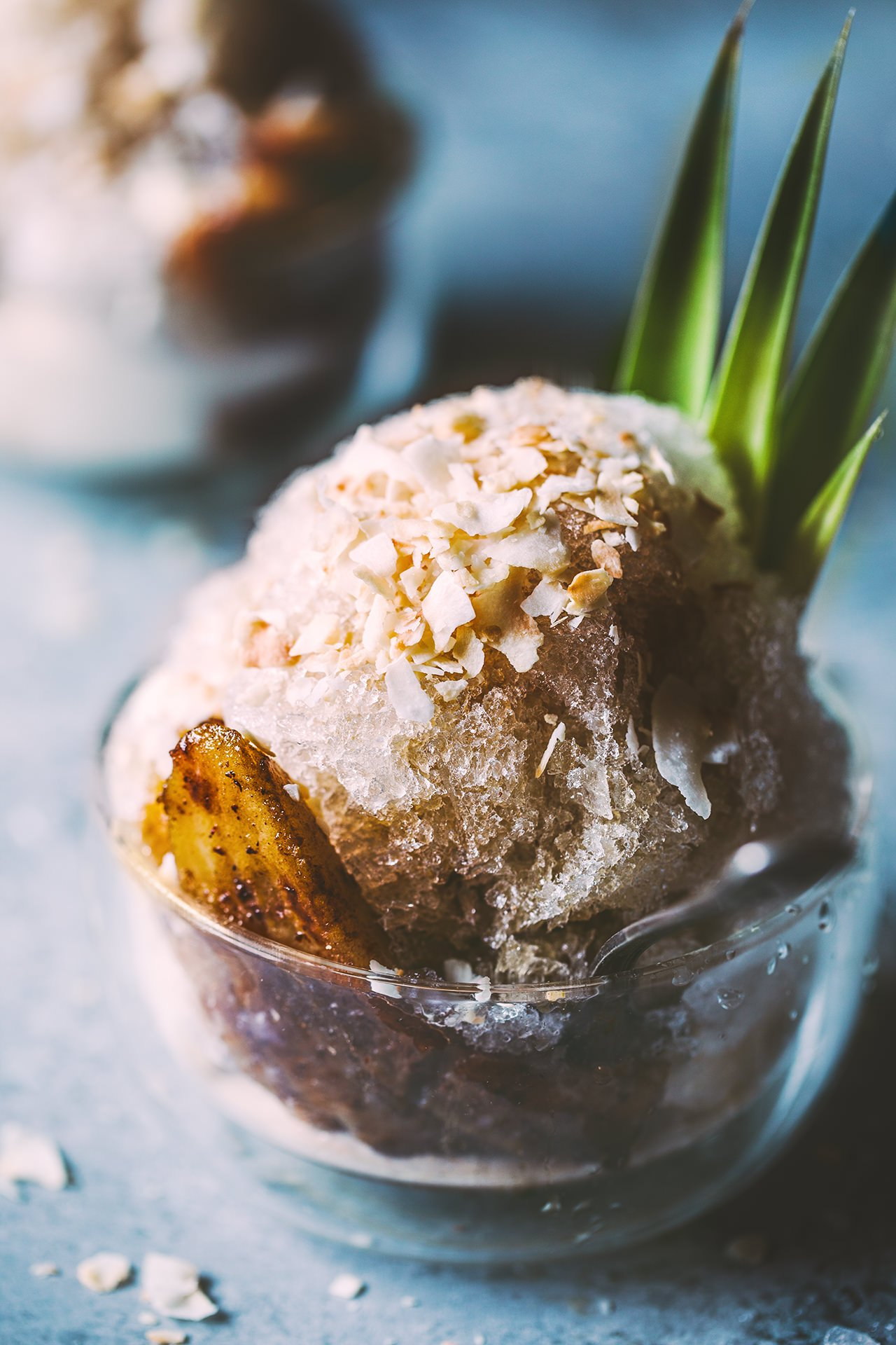 Bananas Foster Shaved Ice by HonestlyYUM (honestlyyum.com)