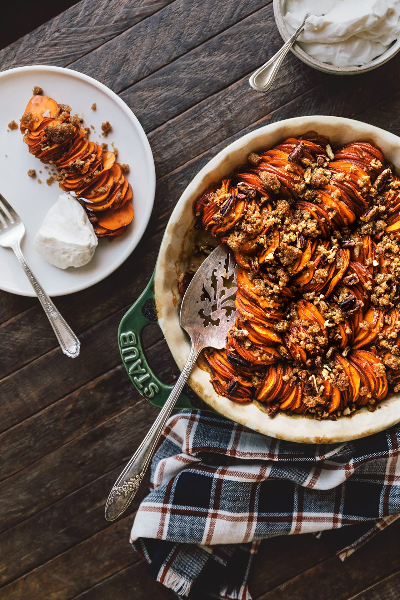 Sweet Potato Gratin | HonestlyYUM (honestlyyum.com)