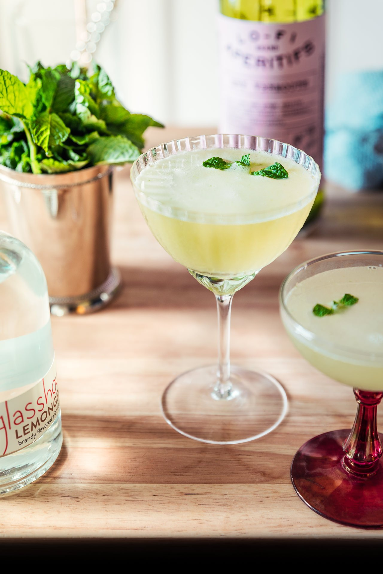 Yerba Buena Cocktail | HonestlyYUM (honestlyyum.com)