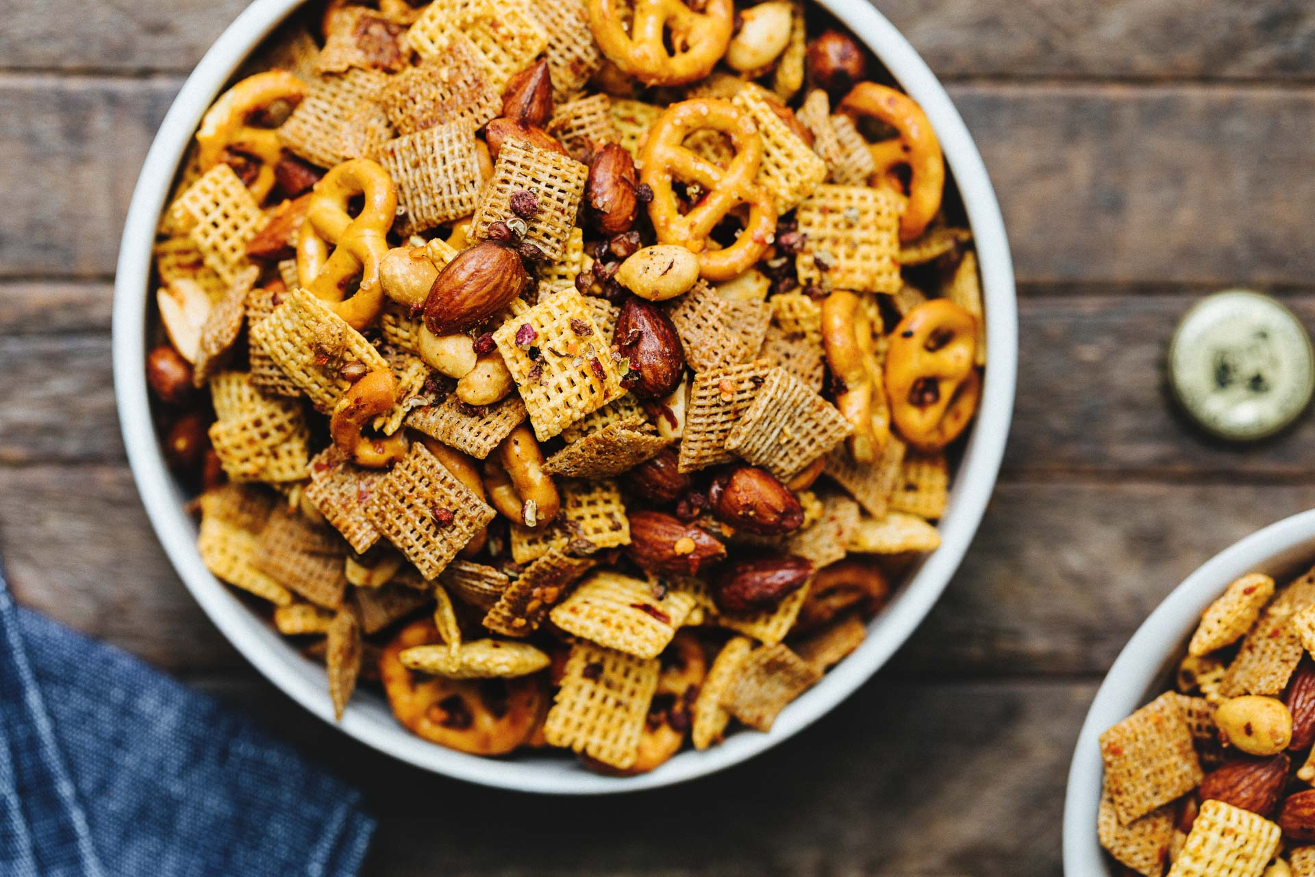Mouth Numbing Szechuan Chex Mix | HonestlyYUM (honestlyyum.com)