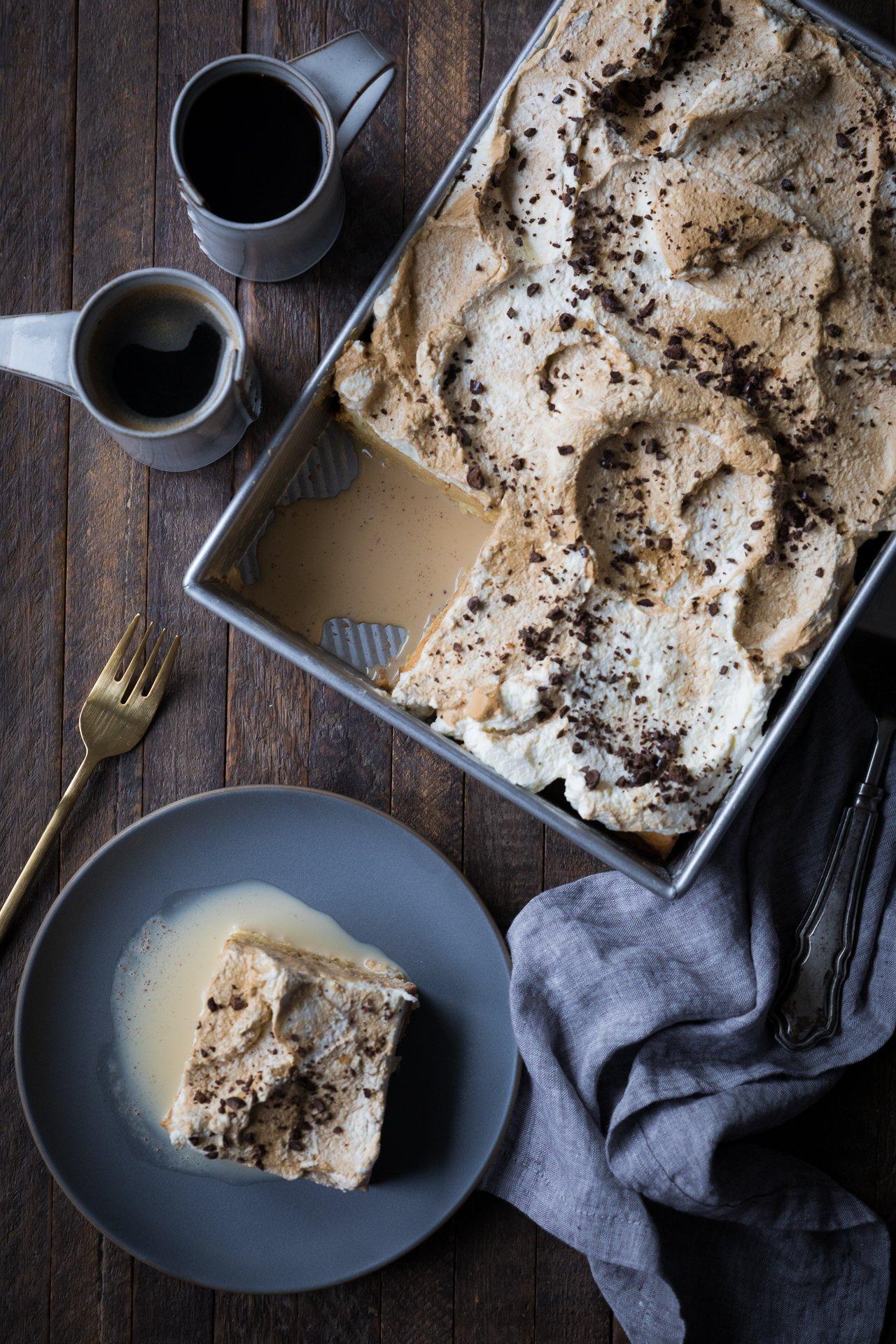 Cafe con leche cake 2 1 Easy Coffee Cake Recipe