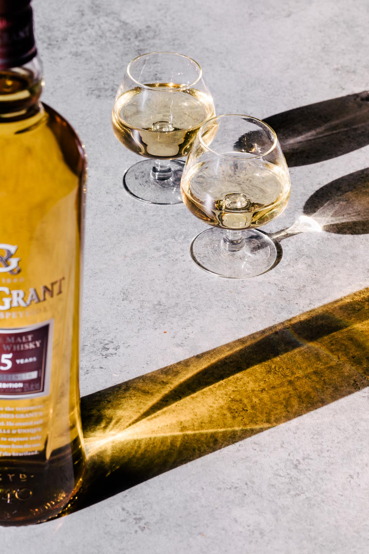 Glen Grant 15 Year Speyside Single Malt Scotch || HonestlyYUM (honestlyyum.com) #whiskey #scotch #singlemalt #speyside