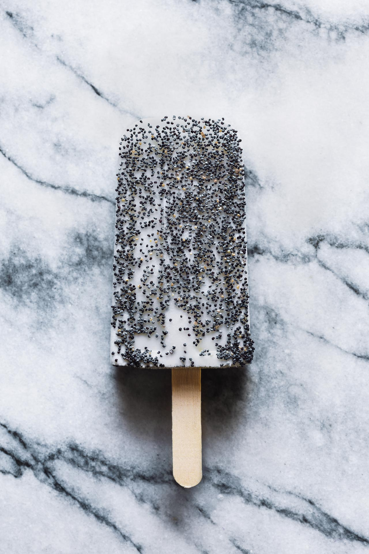 Lemon Poppy Seed Popsicles | HonestlyYUM (honestlyyum.com) #popsicleweek #summer #recipes #popsicles