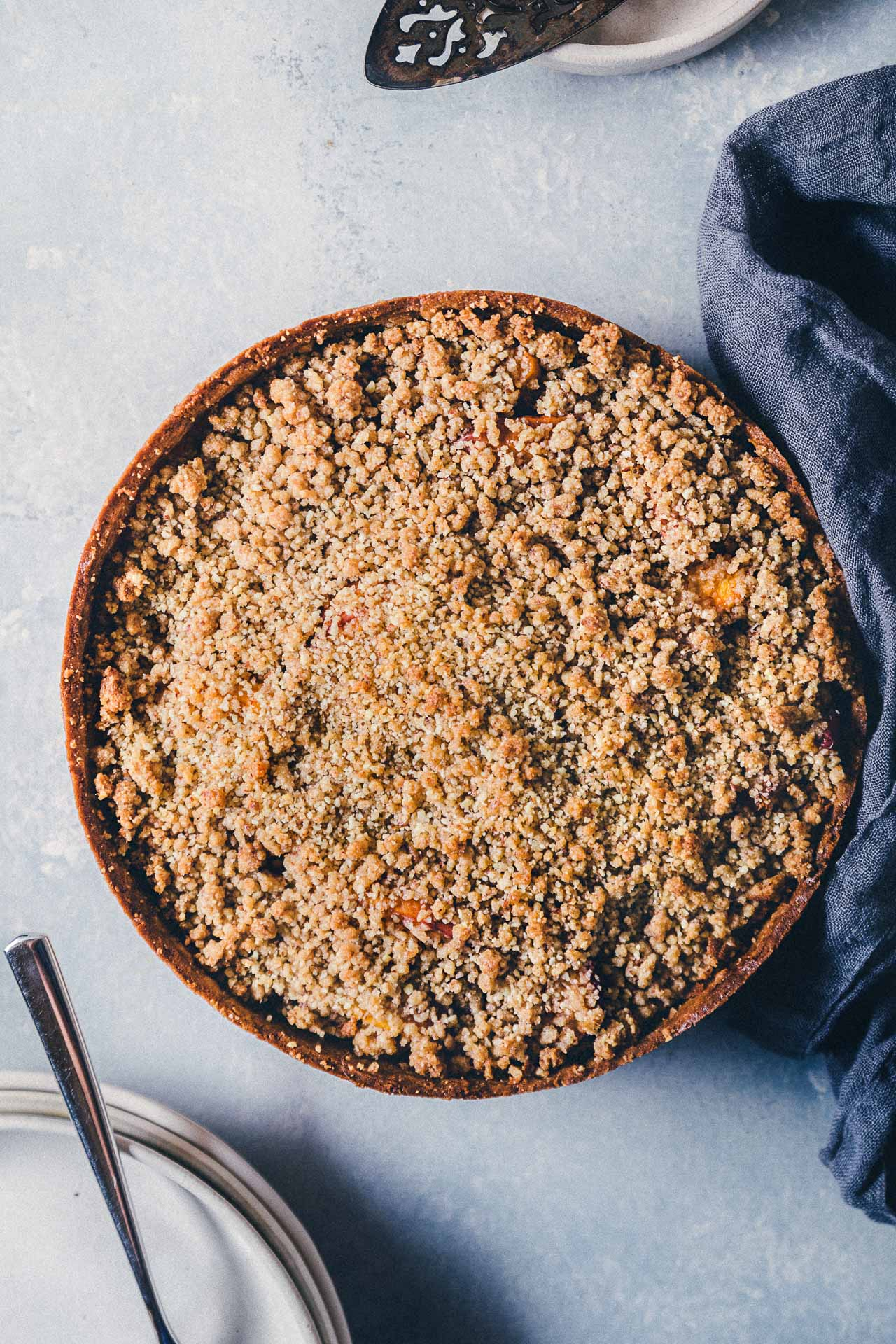 How To Make a Crumble Topping