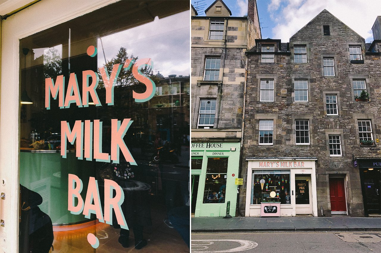 Mary's Milk Bar | Edinburgh Travel Guide by HonestlyYUM