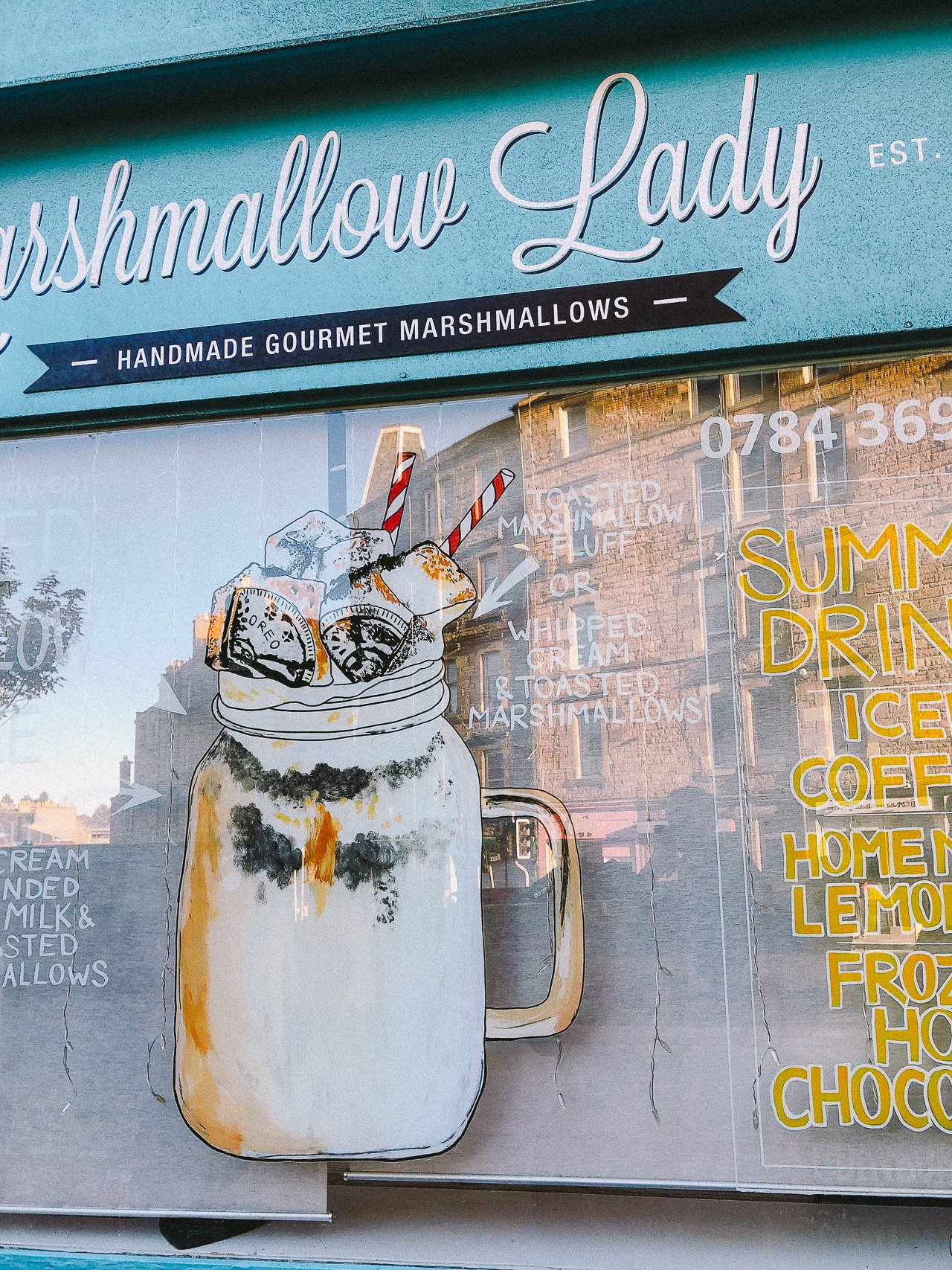 The Marshmallow Lady | Edinburgh Travel Guide by HonestlyYUM